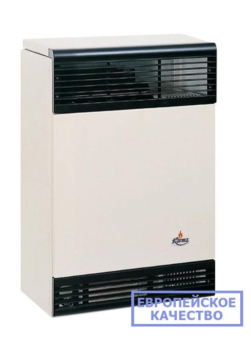 Газовый обогреватель Karma Бета 2 механикКонвекторы газовые<br>Новейший газовый конвектор Karma (Карма) Бета 2 механик изготовлен из высокопрочных материалов, исполнен в корпусе с современным привлекательным дизайном и характеризуется высоким уровнем производительности в течение всего срока эксплуатации. Представленное устройство превосходно подходит для размещения в индивидуальных домах, на дачах или в квартирах.<br>Особенности и преимущества газовых конвекторов Karma представленной серии:<br><br>Не сжигает кислород в помещении.<br>Закрытый цикл горения конвектора достигается герметичным теплообменником.<br>Имеет эстетичный внешний вид и компактные размеры.<br>Прибор работает почти бесшумно.<br>Возможность работы от магистрального газа или от баллона со сжиженным газом (жиклер в комплекте).<br>Не требует трубной разводки, поэтому исключены промерзания системы.<br>Установить конвектор проще и легче, чем водяную систему отопления.<br>Стальной теплообменник из высоколегированной жаропрочной стали, прошедший антикоррозийную гальваническую обработку и покрытый двухслойной термостойкой эмалью (1100  С).<br>Коаксиальный дымоход (труба в трубе) из сплава алюминия 98%, (алюминий выдерживает 660,3 C).<br>Запатентованная форма теплообменника обеспечивает высокую конвекцию для быстрого прогрева помещения.<br>Температура теплообменника 375-420  C.<br>КПД оборудования в зависимости от мощности от 87 до 92 %.<br>Возможность автоматической поддержки t в диапазоне 13-38  С.<br>Моментальная регулировка температуры воздуха в помещении механическим способом.<br>Итальянский газовый клапан Eurosit.<br>Итальянская горелка Worgas.<br>Современный стильный внешний облик.<br><br>Газовые конвекторы Karma серии Beta Mechanic представляют собой передовые отопительные устройства с надежной высокотехнологичной комплектацией и отличным классом энергоэффективности. Все модели рассматриваемой серии быстро и качественно нагревают воздух в обслуживаемом помещении, при этом заботясь о здоровье пользова