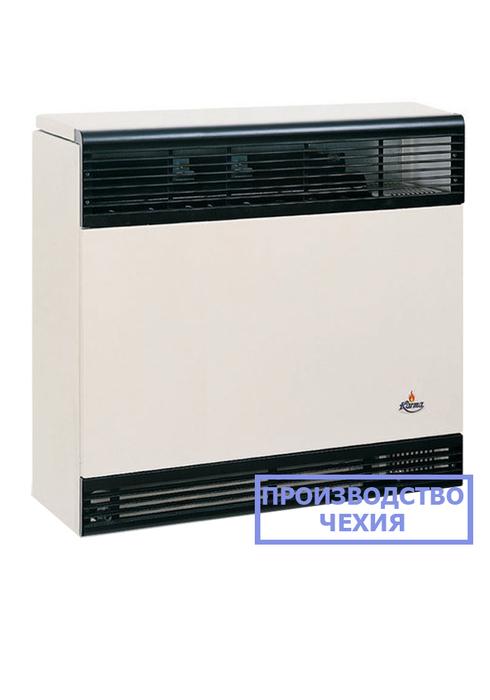 Газовый обогреватель Karma Бета 4 механикКонвекторы газовые<br>Эргономичный бытовой газовый конвектор Karma (Карма) Бета 4 механик   высокоэффективный и экономичный агрегат, предназначенный для установки в помещениях любого назначения и быстрого нагрева комнатного воздуха. Такое оборудование защищено от различных воздействий и безопасно в работе. Для комфортного использования конвектора компания-производитель снизила уровень ума, издаваемого устройством.<br>Особенности и преимущества газовых конвекторов Karma представленной серии:<br><br>Не сжигает кислород в помещении.<br>Закрытый цикл горения конвектора достигается герметичным теплообменником.<br>Имеет эстетичный внешний вид и компактные размеры.<br>Прибор работает почти бесшумно.<br>Возможность работы от магистрального газа или от баллона со сжиженным газом (жиклер в комплекте).<br>Не требует трубной разводки, поэтому исключены промерзания системы.<br>Установить конвектор проще и легче, чем водяную систему отопления.<br>Стальной теплообменник из высоколегированной жаропрочной стали, прошедший антикоррозийную гальваническую обработку и покрытый двухслойной термостойкой эмалью (1100  С).<br>Коаксиальный дымоход (труба в трубе) из сплава алюминия 98%, (алюминий выдерживает 660,3 C).<br>Запатентованная форма теплообменника обеспечивает высокую конвекцию для быстрого прогрева помещения.<br>Температура теплообменника 375-420  C.<br>КПД оборудования в зависимости от мощности от 87 до 92 %.<br>Возможность автоматической поддержки t в диапазоне 13-38  С.<br>Моментальная регулировка температуры воздуха в помещении механическим способом.<br>Итальянский газовый клапан Eurosit.<br>Итальянская горелка Worgas.<br>Современный стильный внешний облик.<br><br>Газовые конвекторы Karma серии Beta Mechanic представляют собой передовые отопительные устройства с надежной высокотехнологичной комплектацией и отличным классом энергоэффективности. Все модели рассматриваемой серии быстро и качественно нагревают воздух в обслуживаемом помещен
