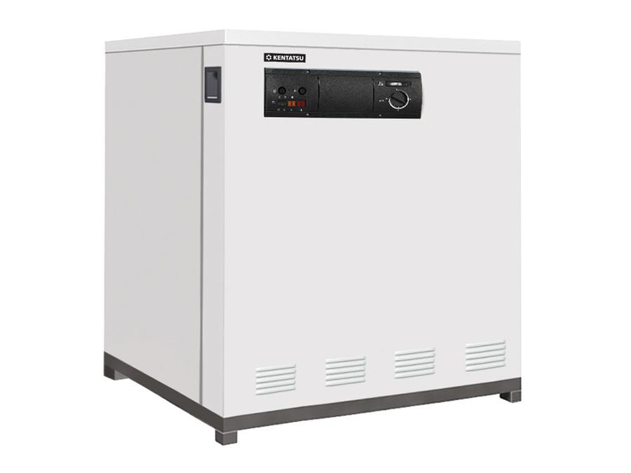 Котел Kentatsu Furst Kobold PRO-0580 кВт<br>Kentatsu Furst Kobold PRO-05 представляет собой привлекательную и, несмотря на свои размеры (высота: 1000 мм, ширина   650 мм), элегантную конструкцию, которая не будет отвлекать на себя лишнего внимания за счет своего простого дизайнерского решения. Изделие имеет напольный тип установки, предусмотрена атмосферная горелка и очень надежный и устойчивый к коррозии теплообменник из чугуна.<br>Достоинства и преимущества котлов отопления серии Kobold PRO от Kentatsu Furst:<br><br>Диапазон мощности котлов   78 251 кВт.<br>Элегантный дизайн.<br>Технология Amin Gas, применяемая при производстве котлового блока, значительно снижает гидравлическое сопротивление.<br>и положительно влияет на равномерность нагрева и долговечность оборудования.<br>Интерфейс котлов позволяет произвести настройку даже неподготовленному человеку.<br>Панель управления адаптирована под установку погодозависимой автоматики различных производителей (Honeywell, Kromschroeder, Siemens).<br>Несколько котлов можно объединить в каскад с использованием дополнительного контроллера.<br>Автоматика управления работой котлов европейского производителя Honeywell.<br>Процесс розжига и горения полностью автоматизирован.<br>Многоуровневая система безопасности гарантирует стабильную и безопасную работу.<br>Благодаря электроду ионизации пламени обеспечивается 100% контроль горения.<br>Котлы адаптированы для работы на пониженном входном давлении газа.<br>Котлы могут эксплуатироваться на природном или сжиженном газе.<br><br>Чугунные газовые котлы серии Kobold PRO отличаются долговечностью, так как имеют надежное исполнение из качественных и проверенных временем материалов. Каждая модель из серии имеет простое дизайнерское решение и высокую эффективность, может стабильно работать даже при низком входном давлении газа, что особенно актуально для эксплуатации в условиях российской действительности.<br><br>Страна: Япония<br>Производство: Турция<br>Тип котла: Энергозависимые<br>Режим