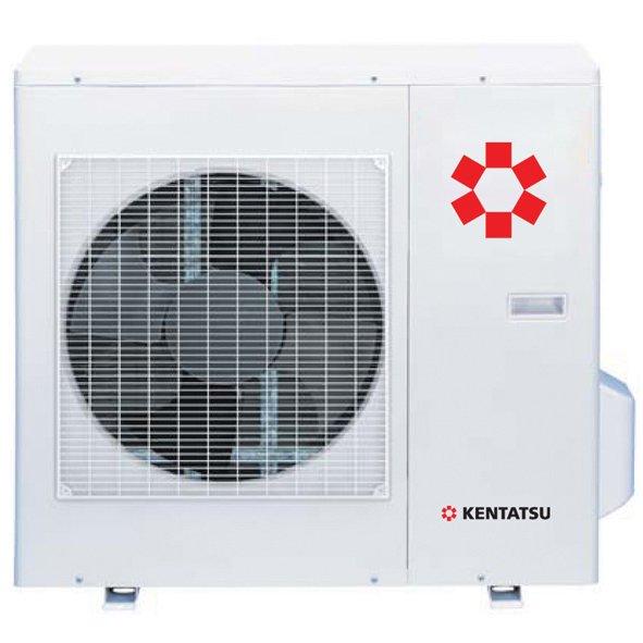 Внешний блок мульти сплит-системы Kentatsu K2MRE50HZAN12 комнаты<br>Помочь организовать производительную эксплуатацию до двух внутренних блоков любого типа способен универсальный наружный блок мульти сплит-систем Kentatsu (Кентатсу) K2MRE50HZAN1. В данном устройстве представлена передовая конструкция теплообменника, позволяющая блоку эффективно работать в режимах обогрева и осушения даже при низкой температуре окружающего воздуха.<br>Особенности и преимущества мульти сплит-систем Kentatsu<br><br>COOL   режим охлаждения. Включается тогда, когда температура в помещении становится выше заданной.<br>HEAT   режим обогрева. Включается тогда, когда температура в помещении становится ниже заданной.<br>FAN   режим вентиляции. Работает только вентилятор внутреннего блока без включения компрессора.<br>DRY   режим осушения. Уменьшает влажность воздуха в помещении.<br>AUTO   автоматический режим. Самостоятельно поддерживает комфортную температуру в помещении, выбирая нужный режим работы.<br>Freon Volatilize Control   контролирует количество фреона в системе, что позволяет избежать поломок оборудования.<br>Self-Test   контролирует режим работы, а также состояние блоков кондиционера с помощью микропроцессора.<br>Auto Defrost   размораживает теплообменник наружного блока при работе в режиме обогрева.<br>Start Delay   задерживает пуск компрессора, выравнивая давление хладагента в системе и уменьшает пусковые токи компрессора. Снижает нагрузки, повышает надежность и долговечность компрессора.<br>Anti Rust   антикоррозионное влагостойкое покрытие теплообменников. Увеличивает эффективность охлаждения, не задерживая конденсат между пластинами теплообменника. Повышает скорость и эффективность оттаивания в режиме обогрева. Значительно снижает энергозатраты.<br>High Speed CPU   высокоскоростной процессор позволяет увеличить количество и скорость одновременно выполняемых операций.<br>R410A   озонобезопасный и экологичный высокотехнологичный двухкомпонентный хладагент.<br>Air Matic   интелле