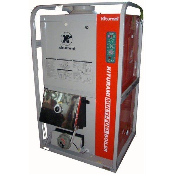 Битопливный котел Kiturami KRM-70R (81.4)50 кВт<br>Высокомощный твердотопливный котел модели Kiturami KRM-70R (81.4) отличается наличием современной технологичной комплектации, безопасностью в работе и широким рядом функциональных особенностей. Рассматриваемое устройство может эксплуатироваться без постоянного присмотра, оно не подвержено износу и имеет несравненный уровень безопасности в работе.<br>Особенности и преимущества твердотопливных котлов Kiturami:<br><br>В качестве источника для выделения тепловой энергии используют дрова и жидкое топливо.<br>Имеются две отдельные камеры сгорания, первая под твердое топливо (дрова, древесный или каменный уголь), а вторая под горелку на жидком топливе.<br>После сгорания твердого топлива автоматически происходит включение горелки на жидком топливе и обогрев помещения продолжается.<br>Оснащены современной турбоциклонной горелкой со встроенным топливным насосом, имеется система подогрева и фильтрации дизельного топлива.<br>Теплообменник из жаропрочной стали.<br>Работа котла полностью автоматизирована.<br>Электронная система управления автоматически поддерживает заданные режимы.<br>Горение твердого топлива регулируется автоматическим устройством регулирования подачи воздуха.<br>В случае отключения питания и последующего его включения котлы самостоятельно войдут в нормальный режим работы.<br>Управление работой котла возможно как с внутреннего пульта, так и входящего в комплект внешнего регулятора температуры в помещении.<br>К отопительным котлам Kiturami KRM также прилагаются инструмент для чистки, топливный фильтр и шланг.<br><br>Твердотопливные передовые комбинированные котлы производства KITURAMI   это широкий ряд моделей с различной комплектацией, выполненных из материалов высочайшего качества и отлично подготовленных для службы в российских условиях эксплуатации. Котлы экономичны и безопасны, они не создают громкого шума, не вредят состоянию окружающей среды и не нуждаются в сложном обслуживании.<br><br>Страна бренда: Коре