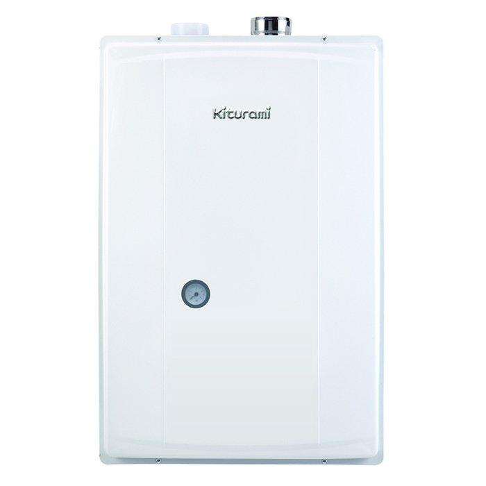Котел Kiturami TWIN ALPHA-13 COAXIAL (15.1 kW)16 кВт<br>Газовый котел модели Kiturami TWIN ALPHA-13 COAXIAL (15.1 kW) может мгновенно организовать поставку горячей воды для самых разных нужд, а также является отличным вариантом для использования в современных системах отопления на участках бытового типа. Данное устройство укомплектовано высокотехнологичной системой безопасности и имеет долгий срок службы.<br>Особенности и преимущества настенных газовых котлов Kiturami  серии TWIN ALPHA:<br><br>Новый усовершенствованный медно-алюминиевый теплообменник.<br>Облегченный расширительный бак, усовершенствованное крепление к корпусу котла Kiturami Twin Apha.<br>Установлен новый вентилятор с низким уровнем шума для поддержания стабильного давления в котле. Привод осуществляется от однофазного электродвигателя постоянного тока. Крепление на вибропоглащающей площадке.<br>Технология блокирования проникновения газообразных отходов.<br>Установлена горелка пропорционально контролируемого типа, потребление газа пропорционально контролируется, в зависимости от температуры горячей воды и отопления. Так образом расход газа минимизируется.<br>Энергосбережение достигается благодаря эффективной работе котла, оснащенного комнатным термостатом-регулятором с цифровой индикацией режимов  Сон ,  Отсутствие ,  Душ .<br>Блок управления, оснащенный системой выявления утечки газа, автоматически оповещает об утечке газа. В этом случае котел автоматически прекращает работу, что позволяет предотвратить аварийную ситуацию и избежать отравления угарным газом.<br>Когда температура воздуха резко понижается зимой, котел автоматически функционирует и поддерживает заданную температуру. Функционирование отопительного циркуляционного насоса предотвращает замерзание котла. При длительном отсутствии не выключайте котел. Настройте температуру котла на соответствующую температуру, чтобы предотвратить замораживание и образование трещин.<br>В случае неисправности мигает контрольная лампочка, и на дисплее комнатног