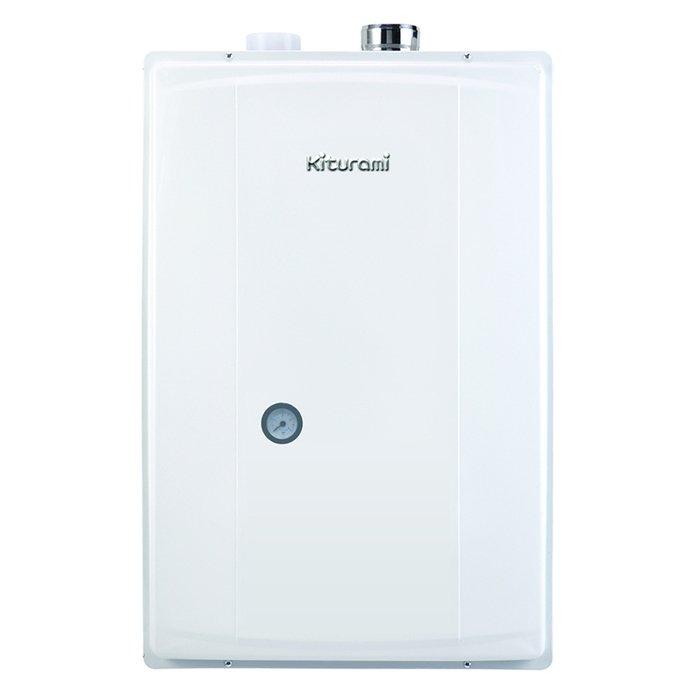 Котел Kiturami TWIN ALPHA-25 COAXIAL (29 kW)28 кВт<br>Мгновенно поставить горячую воду, а также в зимнее время максимально эффективно и безопасно отапливать всю обслуживаемую территорию способен передовой газовый котел модели Kiturami TWIN ALPHA-25 COAXIAL (29 kW). Представленное устройство было создано с использованием уникальных современных технологий, что обеспечило его надежность и функциональность.<br>Особенности и преимущества настенных газовых котлов Kiturami&amp;nbsp; серии TWIN ALPHA:<br><br>Новый усовершенствованный медно-алюминиевый теплообменник.<br>Облегченный расширительный бак, усовершенствованное крепление к корпусу котла Kiturami Twin Apha.<br>Установлен новый вентилятор с низким уровнем шума для поддержания стабильного давления в котле. Привод осуществляется от однофазного электродвигателя постоянного тока. Крепление на вибропоглащающей площадке.<br>Технология блокирования проникновения газообразных отходов.<br>Установлена горелка пропорционально контролируемого типа, потребление газа пропорционально контролируется, в зависимости от температуры горячей воды и отопления. Так образом расход газа минимизируется.<br>Энергосбережение достигается благодаря эффективной работе котла, оснащенного комнатным термостатом-регулятором с цифровой индикацией режимов &amp;laquo;Сон&amp;raquo;, &amp;laquo;Отсутствие&amp;raquo;, &amp;laquo;Душ&amp;raquo;.<br>Блок управления, оснащенный системой выявления утечки газа, автоматически оповещает об утечке газа. В этом случае котел автоматически прекращает работу, что позволяет предотвратить аварийную ситуацию и избежать отравления угарным газом.<br>Когда температура воздуха резко понижается зимой, котел автоматически функционирует и поддерживает заданную температуру. Функционирование отопительного циркуляционного насоса предотвращает замерзание котла. При длительном отсутствии не выключайте котел. Настройте температуру котла на соответствующую температуру, чтобы предотвратить замораживание и образование трещин.<br>В случа