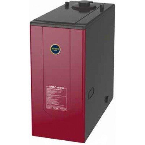 Котел Kiturami TURBO HI FIN -25R (29.1 кВт)25 кВт<br>Высокоэффективный и простой в использовании дизельный котел модели Kiturami TURBO HI FIN -25R (29.1 кВт) отлично применяется на участках с практически любыми условиями эксплуатации, где необходимо организовать комфортный микроклимат в зимнее время года, а также выгодно и безопасно наладить систему ГВС. Котел имеет компактные размеры и отличается простым обслуживанием.<br>Особенности и преимущества дизельных котлов Kiturami:<br><br>Удобное подключение к системе отопления (вход теплоносителя и выход с любой боковой стороны котла);<br>В комплекте с котлом поставляется выносной пульт управления со встроенным комнатным термостатом;<br>Энергосбережение достигается наличием функции: присутствие, отсутствие, душ, таймер;<br>Функция антизамерзания - автоматическое поддержание минимальной температуры при низкой уличной температуре в момент отсутствия жильцов;<br>Функция самодиагностики неисправностей - код неисправности отображается на дисплее выносного пульта управления.<br><br>Дизельные котлы Kiturami   это обязательно экономичные и современные устройства с новейшей комплектацией, созданные специально для службы на территории домов и коттеджей, где присутствует потребность в организации эффективного отопления, а также системы ГВС. Котлы выполнены из высококачественных надежных материалов, защищены от коррозии и отличаются минимальным шумом. <br><br>Страна: Корея<br>Производство: Корея<br>Тип котла: Энергозависимые<br>Режим работы: Отопление/ГВС<br>Камера сгорания: Закрытая<br>Материал теплобмненника: Сталь<br>Количество секций, шт: None<br>Полезная мощность Газ, кВт: None<br>Тип установки: Напольная<br>Мощность ДТ, кВт: 29,1<br>Max давление отопит контура , Атм: 2,5<br>Min давление отопит контура, Атм: 1,0<br>Возможность подключения бойлера ГВС: None<br>Присоединительный диаметр дымохода, мм: 80<br>Присоединительный диаметр  контур отопления , дюйм: 3/4<br>ГабаритыВШГ, см: 93x36.5x65<br>Вес, кг: 80<br>Гарантия: 2 года