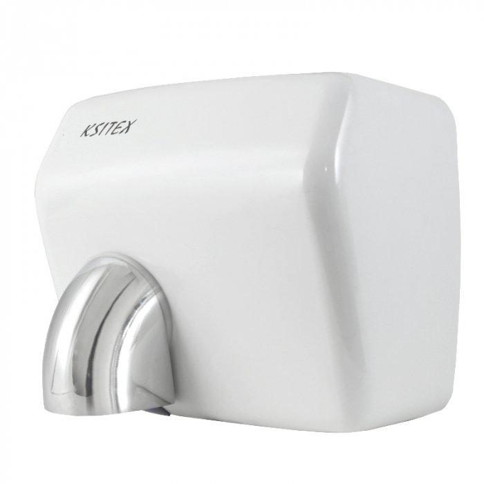 Сушилка для рук Ksitex M-2500 В (эл.сушилка для рук)Скоростные сушилки для рук<br>Установка автоматической сушилки для рук Ksitex (Кситекс) M-2500 В (эл.сушилка для рук)   это лучший способ организовать удобный и гигиеничный способ удаления влаги с рук после их мытья. Использование электрической сушилки данной модели является гораздо более экономным, чем одноразовых бумажных полотенец, в особенности для помещений с очень высокой посещаемостью   кафе, автозаправок, офисы, торговые и развлекательные заведения и т.д. <br>Особенности и преимущества сушилок для рук Ksitex:<br><br>Ударопрочный брызгозащищенный корпус<br>Быстрая сушка<br>Встроенный оптический датчик движения<br>Направленный поток воздуха<br>Автоматическое включение и отключение<br>Экономное электропотребление<br>Изготовлены из высококачественных материалов<br>Высокая производительность<br>Мощный тепловентилятор<br>Низкий уровень шума<br>Простота и удобство в эксплуатации<br>Простая установка<br>Современный дизайн<br>Длительный период службы<br><br>Электрические сушилки для рук производства компании Ksitex серии  M  имеют влагозащитное исполнение корпуса, благодаря которому вероятность выхода прибора из строя вследствие проникновения вовнутрь него воды сведена к минимуму. Во время работы данные сушилки потребляют довольно мало электроэнергии и издают немного шума. Кроме того, упрочненный корпус данных устройств способствует максимально долгому их эксплуатационному периоду.  <br><br>Страна: Китай<br>Мощность, кВт: 2,5<br>Материал корпуса: Нерж. cталь<br>Поток воздуха м/с: 30<br>Степень защиты: IP21<br>Цвет корпуса: Белый<br>Объем воздушного потока, м3/час: 270<br>Минимальный уровень шума, дБа: 70<br>Средняя скорость высушивания, сек: 15<br>Температура воздушного потока, С: 4055<br>Размеры, мм: 232х258х200<br>Вес, кг: 5<br>Гарантия: 1 год