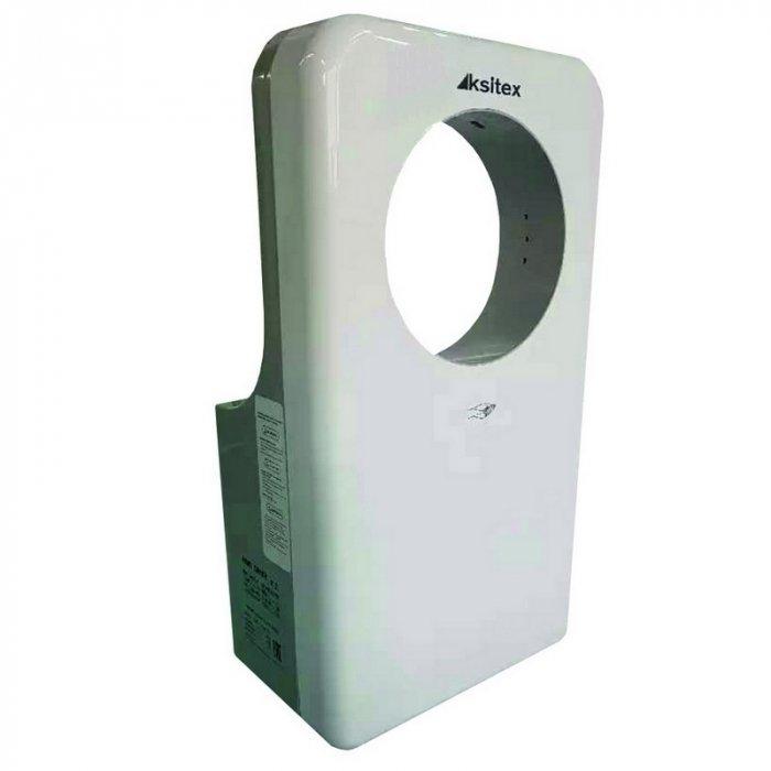 Сушилка для рук Ksitex M-5555 JET (эл.сушилка для рук,пластик.)Скоростные сушилки для рук<br>Ksitex (Кситекс) M-5555 JET (эл.сушилка для рук,пластик.) представляет собой высокоскоросную электросушилку для рук, оборудованную высокопроизводительным тепловентилятором. Несмотря на свою высокую мощность данная модель имеет довольно низкое энергопотребление. Прочный пластиковый корпус этой электросушилки надежно защищает все ее внутренние детали от любых разрушительных факторов внешней среды.  <br>Особенности и преимущества сушилок для рук Ksitex:<br><br>Ударопрочный брызгозащищенный корпус<br>Быстрая сушка<br>Встроенный оптический датчик движения<br>Направленный поток воздуха<br>Автоматическое включение и отключение<br>Экономное электропотребление<br>Изготовлены из высококачественных материалов<br>Высокая производительность<br>Мощный тепловентилятор<br>Низкий уровень шума<br>Простота и удобство в эксплуатации<br>Простая установка<br>Современный дизайн<br>Длительный период службы<br><br>Электрические сушилки для рук производства компании Ksitex серии  M  имеют влагозащитное исполнение корпуса, благодаря которому вероятность выхода прибора из строя вследствие проникновения вовнутрь него воды сведена к минимуму. Во время работы данные сушилки потребляют довольно мало электроэнергии и издают немного шума. Кроме того, упрочненный корпус данных устройств способствует максимально долгому их эксплуатационному периоду.  <br><br>Страна: Китай<br>Мощность, кВт: 1,45<br>Материал корпуса: ABSпластик<br>Поток воздуха м/с: 135<br>Степень защиты: IPX4<br>Цвет корпуса: Белый<br>Минимальный уровень шума, дБа: 65<br>Объем воздушного потока, м3/час: 124<br>Средняя скорость высушивания, сек: 510<br>Температура воздушного потока, С: 4565<br>Размеры, мм: 620х320х185<br>Вес, кг: 10<br>Гарантия: 1 год