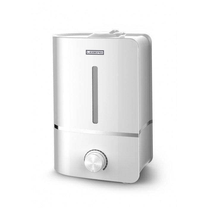 Увлажнитель воздуха Leberg LH-206WУльтразвуковые<br>Увлажнитель воздуха Leberg LH-206W обеспечивает необходимую влажность в помещении площадью 25м2, обладает стильным внешним видом и низким энергопотреблением. Бесшумная работа особенность которая пригодится в семьях с детьми. Простой в обслуживании увлажнитель имеет автоматические блокировки, которые не позволят выйти прибору из строя.<br>Особенности и преимущества модели:<br><br>Увлажнение воздуха<br>Регулируемая производительность<br>Возможность ароматизации воздуха<br>Автоматическое отключение при отсутствии воды<br>Автоматическое отключение при снятии бака<br>Деминерализирующий картридж<br>Керамическое покрытие испарителя, для увеличения срока службы прибора<br>Производительность увлажнения 300 мл/час<br>Время непрерывной работы до 10 часов<br>Низкое потребление электроэнергии<br>Уникальный и элегантный дизайн<br>Простое обслуживание и уход<br>Супертихая работа<br><br>Увлажнители Leberg серии LH создают комфортную атмосферу в вашем доме. При наступлении отопительного периода, воздух в помещении теряет свою влажность и это становится особенно важно. Емкость для воды большого объема позволяет тратить меньше времени на обслуживание прибора.<br><br>Страна: Норвегия<br>Производитель: Китай<br>Площадь, м?: 25<br>Площадь по очистке, м?: 25<br>Обьем бака, л: 4<br>Колво режимов работы: 1<br>Расход воды, мл/ч: 300<br>Гигростат: Нет<br>Гигрометр: Нет<br>Питание, В: 220 В<br>Звуковое давление, дБа: 30<br>Мощность, Вт: 25<br>Габариты ВхШхГ, см: 25.5х18.8х34.6<br>Вес, кг: 2<br>Гарантия: 1 год<br>Ширина мм: 188<br>Высота мм: 255<br>Глубина мм: 346