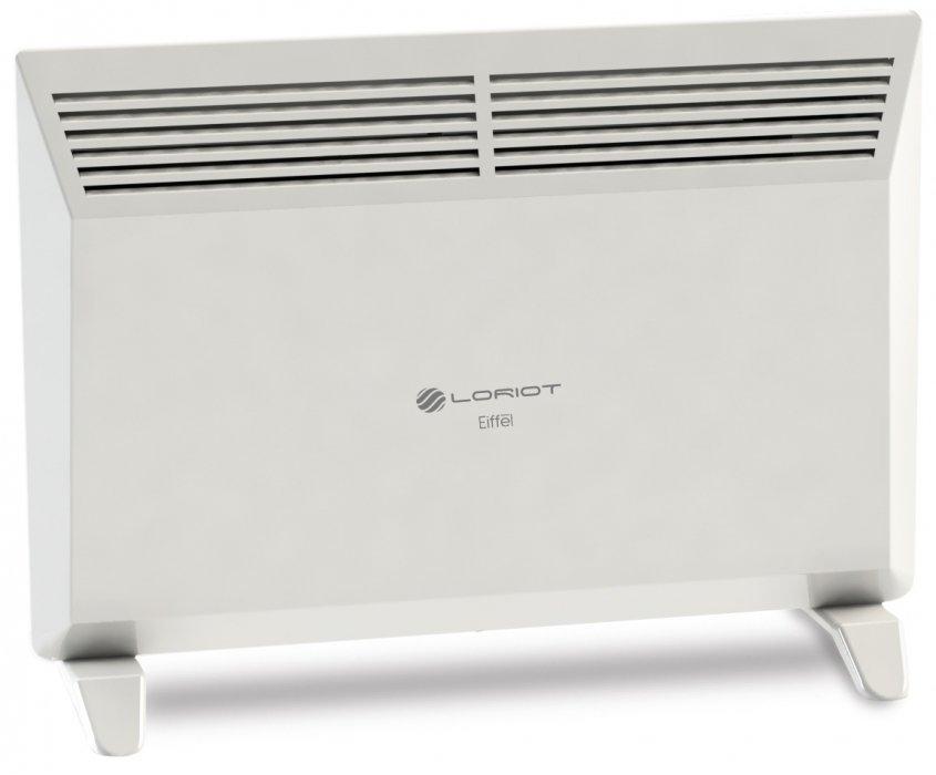 Конвектор электрический Loriot LHCI-1000 M10 м? - 1.0 кВт<br>Электрический конвектор Loriot (Лориот) LHCI-1000 M отличается низким энергопотреблением и невероятно тихой работой, поэтому станет идеальным выбором для установки в спальне или детской комнате. Универсальная конструкция его корпуса позволяет устанавливать данный прибор как на полу, так и на стене. Поскольку при напольной установке всегда есть вероятность опрокидывания прибора, производитель оснастил его защитной функцией автоматического отключения в таких случаях.   <br>Отличительные особенности конвектора Loriot серии Eiffel:<br><br>Механическое управление <br>Защита от перегрева <br>Отключение при опрокидовании<br>Терморегулятор<br>Длина кабеля1.2 метра<br>Класс электрозащиты I<br>Степень защищенности от пыли/влаги   IP 24<br>Нагревательный элемент СТИЧ<br>Простота монтажа (настенная/напольная установка)<br>Опоры в комплекте<br>Ударопрочный корпус<br>Привлекательный индивидуальный дизайн<br><br>Электрические конвекторы Loriot серии Eiffel оборудованы специальным нагревательным элементом игольчатого типа СТИЧ, который способен практически мгновенно нагреваться и очень быстро достигать заданной на термостате температуры. Кроме того, малое сопротивление при проходе воздуха между игольчатыми элементами нагревательного элемента позволяет оборудованию работать абсолютно беззвучно.<br><br>Страна: Россия<br>Производитель: Россия<br>Mощность, Вт: 1000<br>Площадь, м?: 10<br>Класс защиты: IP24<br>Настенный монтаж: Да<br>Термостат: Механический<br>Тип установки: Стена/пол<br>Длина конвектора: 460<br>Высота конвектора: 400<br>Отключение при перегреве: Есть<br>Отключение при опрокидывании: Нет<br>Влагозащитный корпус IP44: Нет<br>Ионизатор: Нет<br>Дисплей: Нет<br>Питание В/Гц: 220/50<br>Размеры ВхШхГ: 40х46х8,4<br>Вес, кг: 3<br>Гарантия: 1 год