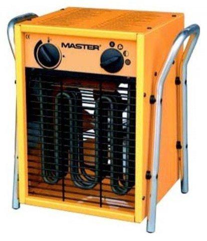 Инфракрасный обогреватель Master B 5 EPB R6 кВт<br>Тепловая пушка MASTER 5 EPB R   компактный и экономичный электрический воздухонагреватель, быстро повышающий температуру воздуха во всем обслуживаемом помещении и позволяющий точно поддерживать желаемый климат в течение продолжительного времени.<br>Комнатный термостат, интегрированный в конструкцию прибора, обеспечивает интенсивность обогрева, вовремя включая и отключая прибор и поддерживая нужную температуру без неоправданных перегревов воздуха и перерасходов электроэнергии.<br>Особенности прибора:<br><br>Высокая продуктивность обогрева<br>Мгновенный нагрев ТЭНа по включении<br>Нагревательный элемент из нержавеющей стали<br>Отсутствие запахов, конденсата или других выделений в воздух при работе<br>4 Уровня интенсивности обогрева<br>Наличие встроенного комнатного термостата<br>Защита от перегрева<br>Теплоизоляция двигателя<br>Нешумный двигатель и вентилятор<br>Простота перемещения<br>Удобная термозащищенная ручка<br>Малый вес и компактные размеры<br>Защитные решетки<br>Прочное и износоустойчивое покрытие корпуса<br>Аккуратный и простой дизайн<br><br>Тепловые пушки электрического типа из серии MASTER EPB   компактное и эффективное экологичное оборудование, которое быстро прогреет воздух в помещении, при этом не выделяя никаких вредных веществ или неприятных запахов.<br>Мощный вентилятор быстро разносит нагретый воздух по помещению, смешивая его с остальной воздушной массой и создавая равномерный климат с более высокой температурой, чем та, которая была изначально.<br>Высокоэффективный нагревательный элемент нагревается практически мгновенно после включения прибора, потому пользователи защищены от неуместного в холодном помещении дополнительного обдува холодным воздухом.<br>Защитная решетка на передней панели и на воздухозаборнике обогревателя исключает попадание на нагревательные элементы посторонних предметов или случайное соприкосновение с ними, способное вызвать ожог. Это обеспечивает максимальную безопасность при