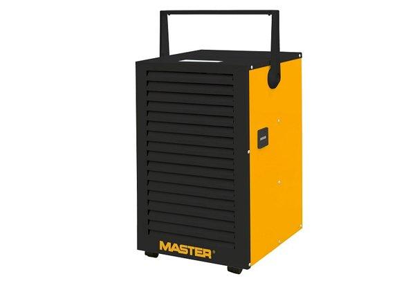 Осушитель воздуха Master DH 732&lt; 30 литров<br>Профессиональный воздухоосушитель Master (Мастер) DH 732   удобный, экономичный, высокопроизводительный, прочный. Этот агрегат оборудован гигростатом, который будет контролировать влажностный уровень в помещении без вашего вмешательства. Дренаж в представленной моделей собирает в бак, который автоматизирован и закрывается при заполнении. Также производитель позаботился о воздушном фильтре высокой плотности, который задерживает пыль и аллергены.<br><br><br><br><br>Особенности и преимущества промышленных осушителей воздуха Master:<br><br>Высокая производительность<br>Прочный корпус<br>Удобная транспортировка благодаря большим колесам и эргономичной ручке<br>Простота эксплуатации<br>Встроенный гигростат<br>Возможность непрерывной работы (24ч/сутки)<br>Бак для сбора конденсата с автоматическим закрытием при заполнении<br>Возможность подсоединения шланга для отвода конденсата<br>Счетчик моточасов<br>Воздушный фильтр<br>Автоматическая разморозка горячими газами<br><br> <br><br><br>Применение:<br><br>Подвалы, гаражи, oфисы<br>Малые складские помещения, склады запасных частей<br>Продуктовые склады<br>Складские помещения<br>Помещения с компьютерным оборудованием<br>Библиотеки, книжные магазины, архивы<br>Музыкальные залы<br>Прачечные, сушильные комнаты в отелях<br>При проведении ремонтных и отделочных работ<br>После затопления зданий, квартир, подвалов<br><br> <br><br><br><br><br>Большая влажность в помещениях может привести к неблагоприятным последствиям. Она значительно сокращает срок службы декоративных покрытий стен и полотков; вызывает ржавчину на сантехнических изделиях; становится причиной замутнения поверхностей зеркал; а самое главное   из-за влажности образуется плесень и другие грибки, наносящие вред здоровью. Поддерживать влажностный уровень на оптимальном уровне вам поможет осушитель воздуха, разработанный компанией Master. Такой агрегат будет полезен в ванных комнатах, бассейнах, библиотеках и гардеробных, в прач