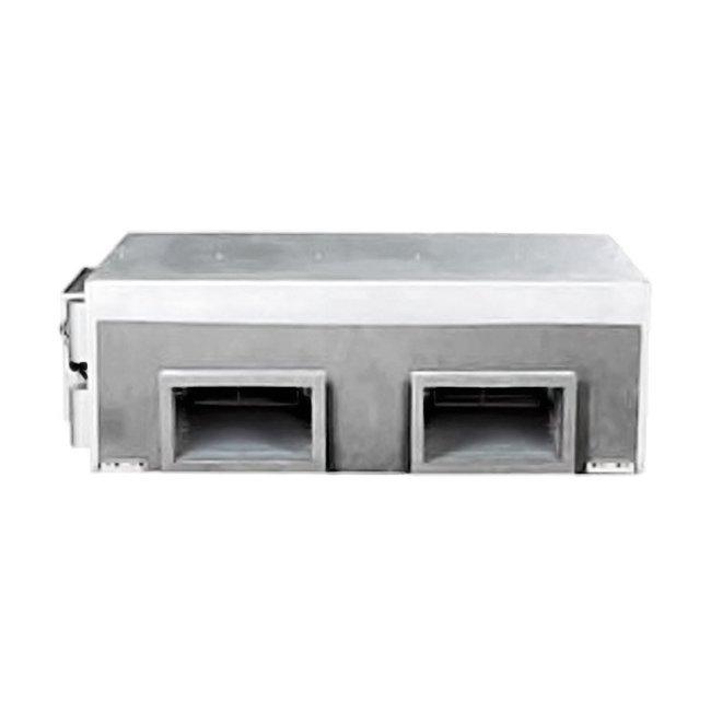 Канальный кондиционер Mdv MDTB-120HWN1/MDOV-120HN117 кВт - 60 BTU<br>Mdv (Мдв) MDTB-120HWN1/MDOV-120HN1   это высокопроизводительная канальная передовая сплит-система, изготовленная из долговечных и надежных материалов и оборудованная новейшим функционалом. Такое оборудование позволяет создавать оптимальный микроклимат на участках с большой территорией и подходит для использования как в домах, так и на производственных объектах.<br>Особенности и преимущества кондиционеров Mdv представленной серии:<br><br>Полупромышленные сплит-системы канального типа можно интегрировать в систему пожарной безопасности и отключать их при поступлении сигнала о чрезвычайной ситуации.<br>Функция Follow me позволяет контролировать температуру воздуха в зоне расположения пульта управления.<br>Для реализации возможности диспетчеризации необходимо доукомплектовать внутренний блок платой адресации и шлюзом для определенной BMS. Для обеспечения центрального управления   платой адресации и центральным пультом управления.<br>Противопылевой фильтр в комплекте.<br>Компрессоры надежных производителей (Copeland, Danfoss, Hitachi).<br>Имеется возможность установить низкотемпературный комплект, который обеспечит работу кондиционера при температуре до -25 С в режиме охлаждения.<br><br>Серия TEMPMAKER от Mdv   это широкий выбор новейших полупромышленных кондиционеров с улучшенной функциональной комплектацией и превосходными рабочими характеристиками. Все модели серии созданы из высококачественных материалов, обеспечивающих долговечность кондиционеров и их непревзойденную устойчивость к различным агрессивным внешним воздействиям.<br><br>Страна: Китай<br>Охлаждение, кВт: 35.2<br>Обогрев, кВт: 38.0<br>Компрессор: Не инвертор<br>Площадь, м?: 350<br>Потребляемая мощность охлаждения, Квт: 2.0<br>Потребляемая мощность обогрева, Квт: 2.0<br>Воздухообмен, мsup3;/ч: 6375<br>Габариты внеш. блока ВШГ: 908x1255x700<br>Осушение, л/час: None<br>Габариты внут. блока, ВШГ: 450x1366x716<br>Уровень шума внеш/внутр.б., Дб