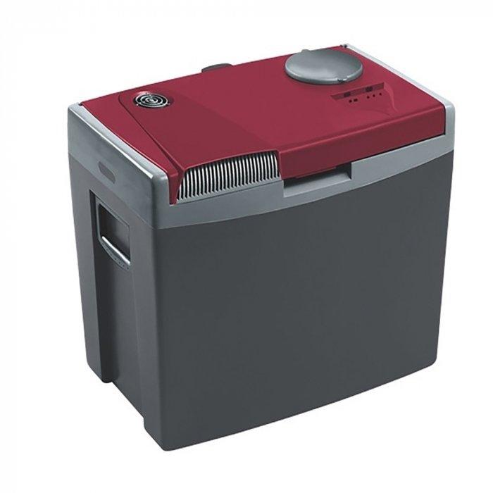 Термоэлектрический автохолодильник Mobicool G35 AC/DC31-40 литров<br>Термоэлектрический автохолодильник Mobicool (Мобикул) G35 AC/DC отличается тщательно продуманной конструкцией. Здесь есть специальный отсек для сетевого шнура, предусмотрен быстрый доступ к напиткам (при котором не нужно открывать всю крышку, выпуская холод), также агрегат оснащен ручкой для переноски и колесиками для более комфортного перемещения. В качестве источника питания холодильник может использовать сеть 12/220 В.<br>Особенности и преимущества представленной модели термоэлектрического холодильника от компании Mobicool:<br><br>Термоэлектрический минихолодильник для отдыха, работы и путешествий.<br>Корпус выполнен из ударопрочного пластика.<br>Изоляцией служит пенополиуретан.<br>Отсек для хранения шнура питания и штепсельной вилки вмонтирован в крышку.<br>Регулировка степени замораживания.<br>Вмещает вертикально бутылки до 2-х литров.<br>Эффективная система охлаждения не требует ухода и гарантирует охлаждение до 18 градусов ниже температуры окружающей среды.<br>Фиксация крышки ручкой.<br>Съемная крышка.<br>Складная ручка.<br>Удобная транспортировка.<br>Простой уход и обслуживание.<br><br>Любите путешествовать? При этом заботитесь о полноценном питании? Тогда автомобильные холодильники термоэлектрического типа от торговой марки Mobicool станут отличным приобретением. Эти компактные устройства смогут сохранить продукты свежими, а напитки прохладными на протяжении длительного времени. При этом агрегаты потребляют минимум электрической энергии и могут использовать бортовую электросеть в качестве источника питания. В онлайн-каталоге mircli.ru&amp;nbsp;представлен широкий ассортимент термоэлектрических холодильников Mobicool по привлекательной цене.<br><br>Страна: Германия<br>Объем, л: 34<br>Мощность, Вт: 48,0<br>Питание, В: 12/220<br>Max температура, C: +15<br>Min температура, C: +1<br>Функция подогрева: None<br>Дельта t, C: 20<br>Кабель питания: Есть<br>Назначение: Автохолодильник<br>ГабаритыВШД,