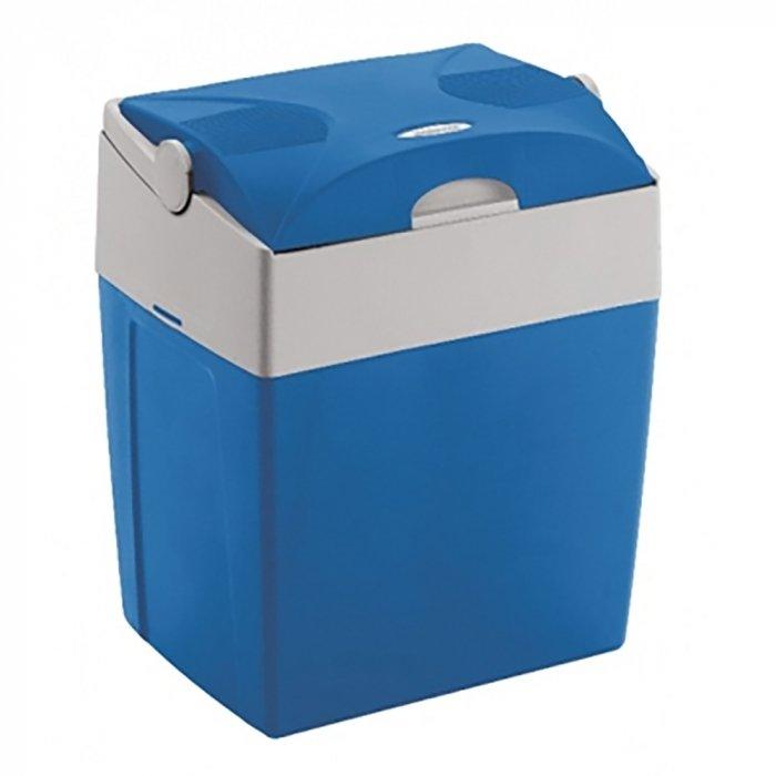 Термоэлектрический автохолодильник Mobicool U30 DC21-30 литров<br>Mobicool (Мобикул) U30 DC представляет собой компактный автохолодильник от известного немецкого бренда, использующий термоэлектрический принцип для достижения нужной температуры охлаждения. Он может вместить не только продукты питания, но даже двухлитровые бутылки в вертикальном положении. Представленная модель отличается качественным исполнением, длительным сроком службы, а также экономичным потреблением электроэнергии.<br>Особенности и преимущества представленной модели термоэлектрического холодильника от компании Mobicool:<br><br>Термоэлектрический минихолодильник для отдыха, работы и путешествий.<br>Корпус выполнен из ударопрочного пластика.<br>Изоляцией служит пенополиуретан.<br>Прочная ручка для удобства транспортировки, а также поддерживает крышку в открытом положении и фиксирует в закрытом положении.<br>&amp;nbsp;Класс энергопотребления A.<br>Охлаждение на 20&amp;deg; ниже температуры окружающей среды.<br>Удобная транспортировка.<br>Простой уход и обслуживание.<br><br>Любите путешествовать? При этом заботитесь о полноценном питании? Тогда автомобильные холодильники термоэлектрического типа от торговой марки Mobicool станут отличным приобретением. Эти компактные устройства смогут сохранить продукты свежими, а напитки прохладными на протяжении длительного времени. При этом агрегаты потребляют минимум электрической энергии и могут использовать бортовую электросеть в качестве источника питания. В онлайн-каталоге mircli.ru представлен широкий ассортимент термоэлектрических холодильников Mobicool по привлекательной цене.<br><br>Страна: Германия<br>Объем, л: 29<br>Мощность, Вт: 48,0<br>Питание, В: 12<br>Max температура, C: +15<br>Min температура, C: +1<br>Функция подогрева: None<br>Дельта t, C: 20<br>Кабель питания: Есть<br>Назначение: Автохолодильник<br>ГабаритыВШД,мм: 445x396x296<br>Вес, кг: 4<br>Гарантия: 1 год