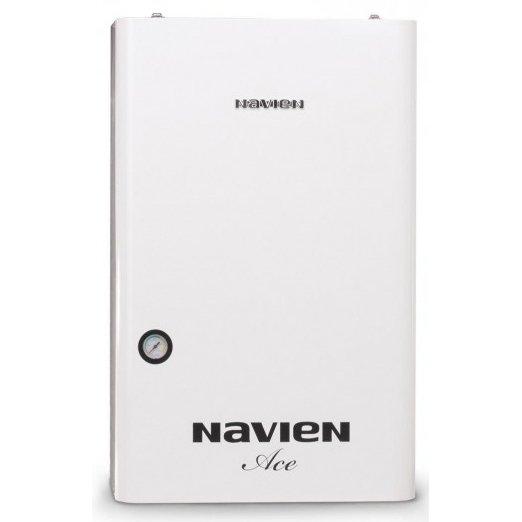 Котел Navien ACE-16AN16 кВт<br>Газовый котёл Navien (Навьен) ACE   16AN. Предназначен для отопления и снабжения горячей водой. Подходит для сурового климата России. Обеспечит тепло и подачу горячей воды в вашем доме. Путём тщательного изучения т анализа рынка разработчики максимально улучшили конструкцию котла, что позволяет забыть проблему отопления и водоснабжения дома. Автоматически определяет понижение температуры и включает горелку.<br>Особенности и преимущества двухконтурного котла серии Deluxe ATMO:<br><br>Стабильная система защиты от замерзания<br>Безопасная и стабильная работа котла при частых колебаниях напряжения в электросети<br>Возможность пользоваться отоплением и горячей водой при низком входном давлении газа в системе газопровода<br>Возможность пользоваться горячей водой при низком входящем давлении воды в системе водопровода<br>Выносной пульт управления В КОМПЛЕКТЕ С КОТЛОМ!!!<br>Пульт оснащен жидкокристаллическим дисплеем со встроенной подсветкой<br>Высокая скорость нагрева<br>Медный теплообменник, при значительно меньших размерах чем у теплообменников из других материалов, способен передавать большее количество тепла<br>Модуляция мощности<br><br>NAVIEN Deluxe ATMO   это серия отопительных газовых котлов с открытой камерой сгорания, которые идеально подойдут для организации оптимальных жилищных условий, соответствующих тепловому комфорту. Помимо отопления, изделия из данной серии способны организовать систему горячего водоснабжения. Модели имеют компактные размерные характеристики и лаконичное дизайнерское решение.<br><br>Страна: Корея<br>Производство: Корея<br>Тип котла: Энергозависимые<br>Режим работы: Отопление/ГВС<br>Камера сгорания: Открытая<br>Горелка: Модулируемая<br>Max мощность, кВт: 16.0<br>Min мощность, кВт: 9.0<br>Max давление отопит контура , Атм: 3.0<br>Min давление отопит контура , Атм: 0.6<br>Расширительный бак: Да<br>Циркуляционный насос: Да<br>Встроенный накопительный бойлер: Нет<br>Возможность подключения бойлера ГВС: None<br>Тип
