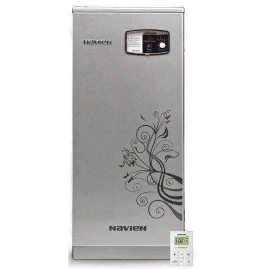 Котел Navien GST-49KN50 кВт<br>NAVIEN (Навьен) GST 49 KN снабдит ваш дом теплом и горячей водой. Работает котел от электричества. Он потребляет мало энергии. Новые технологии позволяют внедрить в котел процессор, благодаря которому он регулирует скачки напряжения в сети. Очевидным преимуществом является малое потребление энергии. NAVIEN (НАВЬЕН)  GST 49 KN станет отличным приобретением для вашего дома, компактный по размерам, он без труда уместится в любом помещении.<br>Особенности и преимущества двухконтурного котла серии GA/GST:<br><br>Рациональная конструкция<br>Безопасная и безупречная работа котла при частых колебаниях напряжения в электросети<br>Стабильная система защиты от замерзания<br>Универсальная система дымоудаления<br>Выносной пульт управления В КОМПЛЕКТЕ С КОТЛОМ!!!<br>Возможность пользоваться отоплением и горячей водой  при низком входном давлении газа в системе газопровода<br>Возможность пользоваться горячей водой при низком входящем давлении воды в системе водопровода<br>Теплообменник из нержавеющей стали в моделях GST<br>Высокоэффективный теплообменник горячего водоснабжения <br><br>Идеальные для эксплуатации в российских условиях газовые напольные котлы NAVIEN из серии GA/GST имеют качественное исполнение из надежных, проверенных временем материалов, лаконичный дизайн и компактные размерные характеристики, позволяющие с комфортом распределить доступное пространство и осуществить более простой монтаж. Оборудование из данной серии может работать при низком давлении газа.<br><br>Страна: Корея<br>Производство: Корея<br>Тип котла: Энергозависимые<br>Режим работы: Отопление/ГВС<br>Камера сгорания: Открытая<br>Горелка: Вентиляторная<br>Тип розжига: Электронный<br>Материал теплобмненника: Сталь<br>Количество секций: None<br>Max мощность, кВт: 49.0<br>Min полезная мощность, кВт: None<br>Max давление отопит контура , Атм: 3.0<br>Min давление отопит контура , Атм: 0.3<br>Расширительный бак: Нет<br>Циркуляционный насос: Нет<br>Встроенный накопительный бойлер: