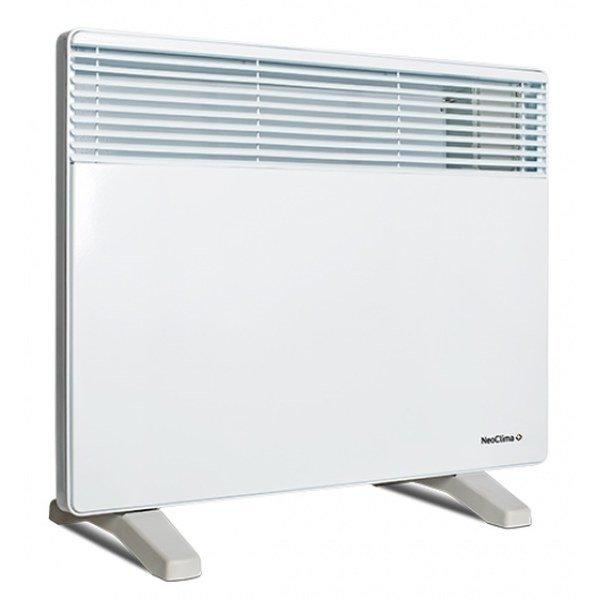 Конвектор электрический Neoclima Dolce ТL2.020 м? - 2.0 кВт<br>Neoclima (Неоклима) Dolce ТL2.0 представляет собой модель качественного и надежного оборудования, способного эффективно и быстро обогреть помещение в холодное время года. На корпусе электрического конвектора расположены ламели, изготовленные из алюминия. Они обеспечивают высокую тепловую проходимость, что повышает эффективность работы агрегата.<br>Особенности и преимущества:<br><br>ТЭН изготовлен из жаростойкой нержавеющей стали с алюминиевым оребрением.<br>Механическое управление.<br>Выносной высокоточный датчик температуры.<br>Низкая температура корпуса.<br>5 степеней защиты.<br>Защита от перегрева.<br>Класс защиты (IP24).<br>Класс электрозащиты II.<br>Защита от замерзания (режим ANTI FROST).<br><br>Серия электрических конвекторов Dolce от всемирно известного производителя Neoclima отличается своей надежностью и длительным сроком службы. Модели оборудованы ТЭНами, изготовленными из нержавеющей стали. Одним из главных преимуществ серии является то, что корпус агрегатов нагревается до минимальной температуры, что обеспечивает защиту от ожогов при соприкосновении с конвектором.<br><br>Страна: Греция<br>Производитель: Россия<br>Mощность, Вт: 2000<br>Площадь, м?: 20<br>Класс защиты: IP24<br>Настенный монтаж: Нет<br>Термостат: Механический<br>Тип установки: Напольная<br>Длина конвектора: 740<br>Высота конвектора: 450<br>Отключение при перегреве: Есть<br>Отключение при опрокидывании: Есть<br>Влагозащитный корпус IP44: Нет<br>Ионизатор: Нет<br>Дисплей: Нет<br>Питание В/Гц: 220/50<br>Размеры ВхШхГ: 450х740х110<br>Вес, кг: 7<br>Гарантия: 5 лет