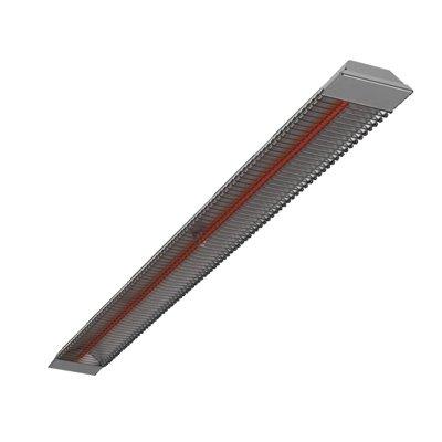 Инфракрасный обогреватель Neoclima IRO-1.51 кВт<br>Neoclima IRO-1.5 представляет собой качественный потолочный инфракрасный обогреватель, который предназначен для осуществления зонального обогрева в помещении. Диаметр действия излучения рассматриваемой модели составляет 15 квадратных метров, что прекрасно подойдет для организации, например, рабочего пространства. Эксплуатация данного оборудования является абсолютно безопасной, благодаря встроенной системе защиты.  Система управления   механическая, что является простым и понятным для любого пользователя.<br>Особенности рассматриваемой модели потолочного инфракрасного обогревателя от торговой марки Neoclima:<br><br>Современный эргономичный внешний облик.<br>Корпус оборудования изготовлен из оцинкованной стали.<br>Отражатель произведен из зеркальной полированной нержавеющей стали высокого качества.<br>Защитная решетка на корпусе.<br>Карбоновый нагревательный элемент высокой эффективности.<br>Инфракрасный длинноволновый тип излучения тепла.<br>Возможность обеспечения зонального обогрева.<br>Интуитивно понятная механическая система управления.<br>Класс защиты электрической части     I.<br>Класс защиты от пыли и влажности   IP 20.<br>Высота потолков в обслуживаемом помещении не должна превышать 3,5 метров.<br><br>Neoclima IRO   это серия инфракрасных обогревателей с карбоновым нагревательным элементом, которые отличаются высокой производительностью при низком потреблении электрической энергии. Все приборы линейки имеют потолочный вариант размещения, что позволяет значительно экономить в полезной площади помещения. Серия представлена шестью моделями различной мощности, среди которых каждый пользователь сможет подобрать устройство, которое ему необходимо. Стоит отметить, что все обогреватели имеют традиционный внешний вид, который украсит собой любой интерьер помещения. <br><br>Страна: Греция<br>Производитель: Россия<br>Мощность, кВт: 1,5<br>Площадь, м?: 15<br>Класс защиты: IP20<br>Регулировка мощности: Нет<br>Встроенный т