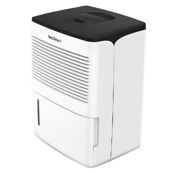 Осушитель воздуха Neoclima ND-10AH10 литров<br>Мобильный осушитель воздуха модели NEOCLIMA (НЕОКЛИМА) ND-10AH применяется для нормализации уровня влажности воздуха на территории различных помещений. В данной модели встроена эффективная фильтрационная система, с помощью которой из воздуха тщательно удаляются частицы пыли. Также осушитель воздуха оборудован специальным дисплеем и удобным таймером работы.<br>Преимущества представленной модели мобильного осушителя воздуха:<br><br>Микропроцессорное управление<br>Жидкокристаллический дисплей<br>Индикация влажности, температуры, времени<br>Программируемое время работы<br>Выбор скорости вентилятора<br>Регулирование интенсивности осушения<br>Самодиагностика<br>Вывод информации обо всех режимах работы на дисплей<br>Дополнительный обогрев помещения<br>Автоматическое размораживание<br>Пластинчатый теплообменник<br>Дренажный патрубок для постоянного отвода воды<br>Фильтр для очистки воздуха от пыли<br><br>Серия осушителей воздуха ND от компании NeoClima предназначена для устранения избыточной влаги в помещениях различного назначения: жилых, коммерческих, а также в бассейнах. За счет использования осушителей NeoClima снижается риск возникновения инфекций, опасных для здоровья человека, которые распространяются во влажной среде. Кроме того, это значительно продляет срок службы разнообразных отделочных и строительных материалов. Данная линейка включает в себя множество моделей разной мощности, подходящих для помещений разной площади. Работают приборы в две ступени: первая &amp;ndash; это охлаждение забранного из помещения воздуха, конденсация и удаление из него влаги; вторая &amp;ndash; нагрев воздуха и подача его на выход.<br><br>Страна: Греция<br>Производитель: Китай<br>Площадь, м?: 14<br>Осушение, л/с: 10<br>Емкость бака, л: 1,5<br>Отвод дренажа: Сбор в бак<br>Уровень шума,  Дба: 39<br>Мощность, Вт: 200<br>Гигростат: Нет<br>Гигрометр: Нет<br>Габариты ВхШхГ, см: 40x31x24,3<br>Вес, кг: 12<br>Гарантия: 1 год<br>Ширина мм: 310<br>Вы