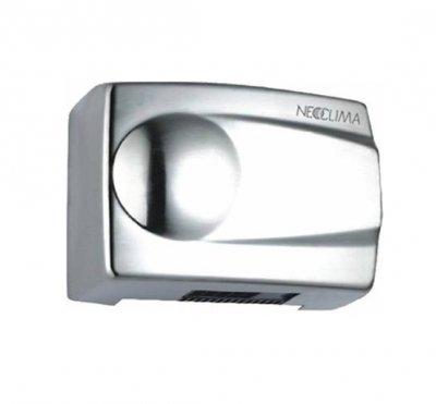 Сушилка для рук Neoclima NHD-1.5MАнтивандальные<br>NeoClima NHD-1.5M &amp;ndash; это высококачественная и производительная сушилка для рук в антивандальном стальном корпусе. Представленная модель предназначена для эксплуатации в помещениях различного назначения. Особенно полезна она будет в кафе и ресторанах, торговых центрах, кинотеатрах и т.д. Прибор практичен и очень удобен, оснащен двигателем с увеличенным сроком службы. Встроенный инфракрасный датчик автоматически включает прибор при поднесении рук в рабочую зону.<br>Преимущества представленной модели сушилки для рук:<br><br>Направленный поток воздуха.<br>Автоматическое включение/отключение.<br>Встроенный инфракрасный датчик движения.<br>Простая установка.<br>Быстрая сушка.<br>Экономное электропотребление.<br>Высококачественные материалы.<br>Удобная эксплуатация.<br>Современный дизайн.<br>Класс защиты IP23.<br>Простота обслуживания.<br>Высокая воздухопроизводительность.<br>Мощный тепловентилятор.<br>Низкий уровень шума при эксплуатации.<br>Надежность.<br>Длительный срок безукоризненной службы.<br><br>Сушилки для рук серии NHD от компании Neoclima отличаются надежностью и простотой использования. Весь модельный ряд отличается своими конструктивными особенностями: это долговечный двигатель и система бесконтактного включения и выключения. Кроме того, модели сушилок для рук Neoclima из семейства NHD сразу обращают внимание на свой дизайн &amp;ndash; современный, но классический и элегантный, он будет весьма гармонично смотреться в любом интерьере. А компактные размеры приборов позволят разместить сушилки для рук в любом удобном месте. Стоит также обратить внимание, что приборы облачены в ударопрочный корпус, что является большим преимуществом. В нашем интернет-магазине вы сможете приобрести сушилки для рук Neoclima по привлекательной цене!<br><br>Страна: Греция<br>Мощность, кВт: 1,5<br>Материал корпуса: Нет<br>Поток воздуха м/с: 15<br>Степень защиты: IP 23<br>Цвет корпуса: Хром<br>Минимальный уровень шума, дБа: 55<