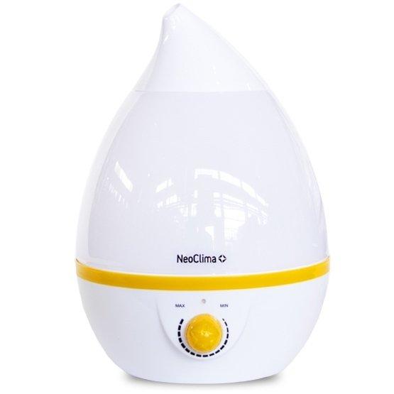Ультразвуковой увлажнитель воздуха NeoclimaУльтразвуковые<br>Neoclima (Неоклима) NHL-200L   это модель компактного увлажнителя воздуха, который поможет поддержать оптимальный уровень влажности в помещении, площадь которого не превышает 20 м2.Внутренняя емкость вмещает в себя до 2 литров воды. Бак надежно защищен от бактерий специальным покрытием. На корпусе агрегата расположен тумблер, при помощи которого можно регулировать интенсивность испарения.<br>Особенности и преимущества<br><br>Антибактериальное покрытие бака<br>Регулировка интенсивности испарения<br>Многоцветная LED подсветка<br>Обслуживаемая площадь до 20 кв. м.<br>Емкость резервуара для воды 2 л.<br>Расход воды 250 мл.ч<br><br>Бытовые ультразвуковые увлажнители воздуха Neoclima серии NHL   это современное оборудование, помогающее создавать и поддерживать оптимальные климатические условия в помещении. Модели отличаются своей надежностью и производительностью. В серии представлен широкий выбор увлажнителей воздуха, среди которых каждый пользователь подберет для себя нужную модель.<br><br>Страна: Греция<br>Производитель: Китай<br>Площадь, м?: 20<br>Площадь по очистке, м?: Нет<br>Обьем бака, л: 2<br>Колво режимов работы: 1<br>Расход воды, мл/ч: 250<br>Гигростат: Нет<br>Гигрометр: Нет<br>Питание, В: 230 В<br>Звуковое давление, дБа: 25<br>Мощность, Вт: 23<br>Габариты ВхШхГ, см: 29,5х20х20<br>Вес, кг: 1<br>Гарантия: 1 год<br>Ширина мм: 200<br>Высота мм: 295<br>Глубина мм: 200