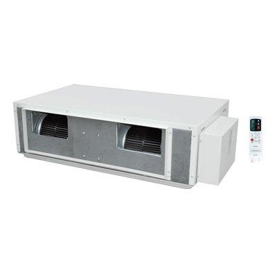 Канальный кондиционер Neoclima NS/NU-36D811 кВт - 36 BTU<br>Сплит-система Neoclima NS/NU-36D8 легко впишется в любое помещение жилого или полупромышленного типа, не меняя задумок вашего дизайна. Низкий уровень шума при работе, функции авторестарта и самодиагностики, таймер для установки времени включения или выключения, повышенная эффективность теплообмена благодаря улучшенной системе трубопроводов   все это позволит вам создать комфортные условия в вашем помещении, не отвлекая вас от ваших повседневных дел.<br>Особенности рассматриваемой модели канального кондиционера от торговой марки Neoclima:<br><br>Быстрый выход на желаемые параметры функционирования.<br>Функция автоматического колебания жалюзи.<br>Режим обдува.<br>Режим автоматической очистки.<br>Автоматическое поддержание заданной температуры работы.<br>Функция предварительного нагрева воздуха.<br>Прибор оборудован эффективным компрессором.<br>Режим вентиляции воздуха.<br>Ночной режим работы.<br>Режим осушения воздуха в помещении.<br>Функция интеллектуальной разморозки наружного блока.<br>Автоматический выбор режимов работы.<br>Пульт дистанционного управления с возможностью установки таймера в комплекте.<br>Защита от высокого и низкого давления.<br>Защита электрической части прибора.<br>Низкий уровень шума.<br>Озонобезопасный хладагент.<br><br>Канальные кондиционеры со средним статистическим напором серии NS/NU-D5 от торговой марки Neoclima   это мощные современные приборы, которые способны обслужить одновременно несколько помещений. Все приборы рассматриваемой серии отличаются максимально возможным комфортом в эксплуатации, реализовано множество режимов автоматического функционирования. При этом потребление электрической энергии сведено к минимуму, а также уменьшен уровень звукового давления. Для управления режимами работы и установки желаемой температуры комплектацией предусмотрен удобный пульт.<br><br>Страна: Греция<br>Охлаждение, кВт: 10,5<br>Обогрев, кВт: 11,5<br>Компрессор: Не инвертор<br>Площадь, м?: 1