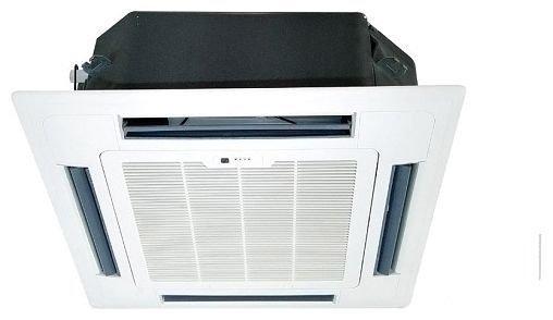 Кассетный кондиционер Neoclima NS/NU-18B53.5 кВт - 12 BTU<br>Компактный кассетный кондиционер Neoclima NS/NU-18B5 предназначен для эффективного изменения климатический условий в помещении с минимальными затратами электроэнергии. Данное устройство оснащено передовой системой защиты, устойчиво в изменениям напряжения и не подвержено перегреву, что гарантирует надежность кондиционера и обуславливает его долговечность.<br>Особенности и преимущества кассетных кондиционеров Neoclima серии NS/NU:<br><br>Равномерное распределение воздуха в помещении<br>Озонобезопасный фреон R 410<br>Автоматический перезапуск<br>Дренажная помпа поднимает конденсат на200 мм<br>Самодиагностика неисправностей<br>Имеется таймер вкл/выкл<br>Регулировка скорости вращения вентилятора<br>Возможна регулировка направления потока воздуха<br>Система против образования льда<br>Распределители фреона повышают теплообмен<br>Функция оттаивания наружного блока<br>Функция автоматического рестарта<br>Простой алгоритм диагностики неисправностей<br>Защита компрессора от перегрева<br>Теплообменник внутреннего блока защищен от образования льда<br>Оснащен встроенным стабилизатором напряжения<br>Имеет функцию запоминания настроек<br><br>Кассетные кондиционеры Neoclima серии NS/NU имеют довольно широкую сферу применения и могут быть установлены в стандартной ячейке подвесного потолка. Этот агрегат оснащен японским надежным компрессором, обеспечивающим высокую эффективность работы сплит-системы. Благодаря высокому качеству компонентов этого кондиционера, он может  работать длительное время беспрерывно, при этом в его работе не будет возникать никаких сбоев. Специальные распределители фреона, которые установлены в радиаторах внутреннего и внешнего блока, обеспечивают равномерный теплообмен и более эффективную теплоотдачу.<br><br>Страна: Греция<br>Площадь, м?: 50<br>Охлаждение, кВт: 5,3<br>Обогрев, кВт: 5,9<br>Компрессор: Не инвертор<br>Расход воздуха, мsup3;/ч: 700<br>Осушение, л/час: None<br>Длина трассы, м: 15<br>Режи