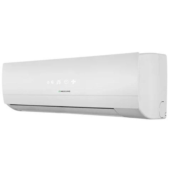 Настенный кондиционер Neoclima NS/NU-HAL30R90 м? - 9 кВт<br>Настенная сплит-система Neoclima (Неоклима) NS/NU-HAL30R прекрасно подойдет для установки в помещениях средней и большой площади с целью создания и поддержания наиболее благоприятного микроклимата. Представленная модель оснащена четырьмя активными фильтрами для очищения воздуха, наличие которых позволяет эффективно устранять посторонние запахи и мелкие загрязнения.<br>Особенности и преимущества настенных сплит-систем Neoclima серии Plazma ON/OFF:<br><br>Плазменный фильтр ионизирует воздух и задерживает до 95% пыли.<br>Регулировка направления воздушного потока.<br>Система против образования льда.<br>Функция запоминания настроек.<br>Режим комфортного сна   работа на пониженной мощности.<br>Электромагнитная совместимость.<br>Эффективный вентилятор.<br>Высокий уровень надежности.<br>Оптимальные технические характеристики.<br>Конкурентоспособная цена.<br>Деактивация неприятных бытовых и промышленных запахов.<br>Увеличенный ресурс бесперебойной работы.<br>Классический внешний вид.<br>Компактные габаритные размеры внутреннего и наружного блоков.<br>Быстрое достижение требуемого температурного режима.<br>Простое и понятное управление.<br>Автоматический режим функционирования.<br>Надежность, комфорт, безопасность.<br><br>Серия Plazma ON/OFF представляет линейку настенных сплит-систем, специально адаптированных для установки и эксплуатации в городских квартирах или офисах, где существует постоянная проблема загрязнения комнатного воздуха. Все представленные модели оборудованы ионизатором, который позволяет быстро устранить любые посторонние запахи, а также приятно освежает воздух. Эффективно справиться с грязью, вредными бактериями и вирусами поможет особая фильтрационная система, входящая в комплектацию кондиционеров серии Plazma ON/OFF.<br><br>Уровень шума, дБ: 60<br>Горизонтальная регулировка потока: Нет<br>Страна бренда: Греция<br>Производитель: Китай<br>Габариты, см: 65x90,2x30,7<br>Компрессор: Не инвертор<br>Ве