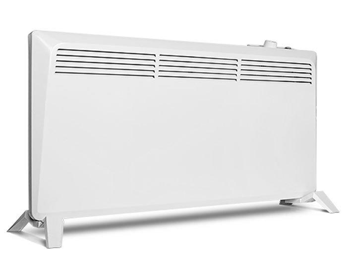 Конвектор электрический Neoclima PRIMO 5005 м? - 0.5 кВт<br>Для того, чтобы очень быстро прогреть воздух в комнате площадью до 8 квадратных метров, установите в ней электрический конвектор NEOCLIMA (Неоклима)&amp;nbsp;PRIMO 500. Этот обогреватель имеет лаконичный современный дизайн, который делает его уместным в комнате с любым интерьером. Компактные, но устойчивые, ножки на колесиках, которые прилагаются в комплекте к прибору, позволяют Вам быстро и удобно перемещать его с одного места на другое.&amp;nbsp;<br>Особенности конвектора Neoclima:<br><br>Монолитный Х-образный нагревательный элемент<br>Механический термостат<br>Быстрый нагрев<br>Не пересушивает воздух<br>Не сжигает кислород<br>5-ступенчатая система защиты<br>Бесшумная работа<br>Компактность и мобильность<br>Защита от перегрева<br>Защита от попадания влаги&amp;nbsp;&amp;mdash; IP24&amp;nbsp;<br>Защита от попадания внутрь посторонних предметов<br>Защита от замерзания (режим Anti&amp;nbsp;Frost)<br>Защита от поражения электрическим током (класс&amp;nbsp;II)<br>Специальные опоры для простой и надежной установки<br><br>Электрический воздухонагреватель компании Neoclima серии Primo&amp;nbsp;оснащен специально разработанным монолитным нагревательным элементом, имеющим Х-образнyю форму, позволяющую ТЭНу отдавать больше тепла, что, в конечном счете, намного повышает тепловую производительность всего обогревателя. Контакт внешнего воздуха с нагревательным элементом полностью исключен, поэтому при работе прибора воздух остается таким же влажным, а уровень кислорода в нем &amp;ndash; неизменным. Кроме того, специальная конструкция корпуса конвектора не дает пыли внутри задерживаться и оседать, издавая при нагреве неприятный запах.<br>Для большего комфорта при использовании конвектор Neoclima оснащен точным механическим термостатом, который позволяет увеличивать и уменьшать тепловую мощность прибора. Его компактные размеры позволяют Вам сохранить максимум полезного пространства при установке обогревателя, а его стильн