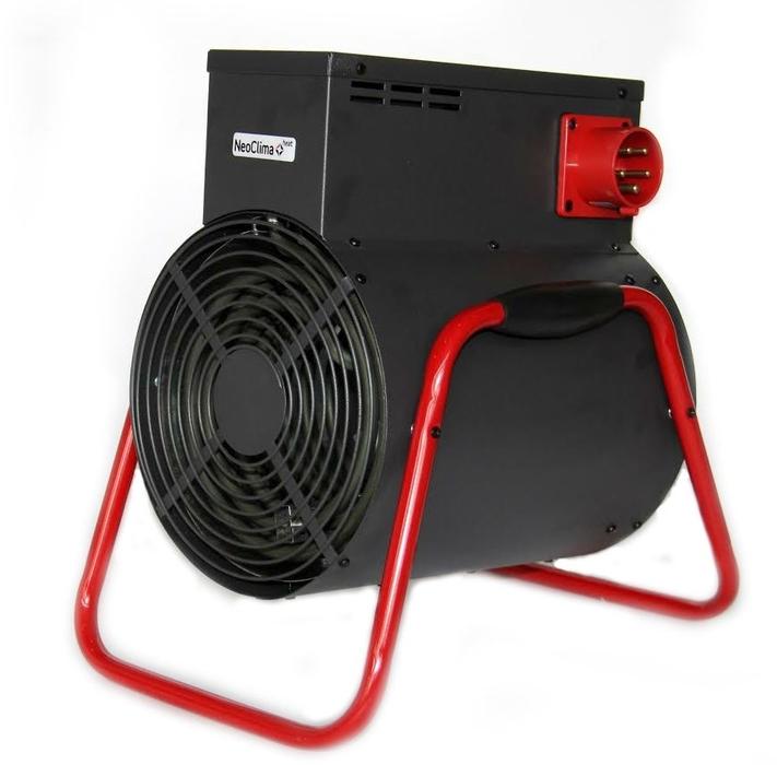 Тепловая пушка Neoclima ТПК-910 кВт<br>&amp;nbsp;<br>Тепловые пушки Neoclima &amp;ndash; надежные приборы для профессионального использования. Нагрев воздуха в помещениях разного объема, подача необходимого объема теплого воздуха в зоны ведения строительных и ремонтных работ, поддержание необходимых температур в помещениях.<br>Все модели тепловых пушек Neoclima имеют встроенный блок защиты от перегрева и аварийного отключения. Все серии выходят в надежном металлическом корпусе окрашенном порошковой термостойкой эмалью. Из преимуществ тепловых пушек Neoclima стоит выделить направленный поток горячего воздуха и изменяемый угол наклона корпуса (3-5кВт), ТЭНы из углеродистой стали с&amp;nbsp; ресурсом&amp;nbsp; более 25 тыс. часов, ступенчатое переключение мощности и электродвигатель имеющий&amp;nbsp; ресурс не менее 40 тыс. часов.<br>Круглые пушки, серии ТПК, с увеличенной дельтой нагрева воздуха, эффективны при необходимости быстрого нагрева больших воздушных масс и создания направленного мощного потока нагретого воздуха.&amp;nbsp; Оснащены датчиком перегрева и кнопочным управлением с высокой степенью брызгозащищенности. Удобная ручка перемещения антивандального исполнения. Присутствует ступенчатая регулировка мощности, и для моделей больше 5 кВт &amp;ndash; автоматическое поддержание заданной температуры.<br>Преимущества:<br><br>2 режима нагрева<br>Малошумный двигатель<br>Эффективный нагрев входящего воздуха (+30 градусов&amp;nbsp;С)<br>Антивандальное исполнение<br>Удобная ручка перемещения с антискользящей резиновой накладкой<br>Устойчивые ножки<br>Все степени безопасности<br>Внутренний стальной защитный кожух не позволяет&amp;nbsp;нагреваться корпусу прибора<br><br><br>Страна: Россия<br>Тип: Электрическая<br>Мощность, кВт: 9,0<br>Площадь, м?: 90<br>Скорость потока м/с: None<br>Расход топлива, кг/час: None<br>Расход воздуха, мsup3;/ч: 720<br>Нагревательный элемент: Трубчатый<br>Вместимость бака, л: None<br>Регулировка температуры: Есть<br>Вентиляция без нагрева: Ест