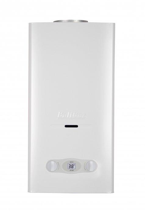Водонагреватель Neva 4510 м16-21 кВт<br>NEVA-4510 м   модель газовой колонки, установив которую пользователь на много лет забудет о проблеме обеспечения горячей водой себя и всех домашних.<br>Получить необходимый объем горячей воды, причем в неограниченном размере, - легко; достаточно всего лишь открыть водозаборный кран, создав проток воды через теплообменник.<br>Горелка, оснащенная функцией модуляции пламени, позаботится о стабильности поддержания установленной температуры нагрева.<br>Особенности прибора:<br><br>Топливо: газ (природный или сжиженный)<br>Медный теплообменник<br>Автоматический электроподжиг<br>Индикатор включения прибора<br>Цифровой ЖК-дисплей<br>Термометр<br>Газ-контроль<br>Режимы зама/лето<br>Модуляция пламени<br>Продолжает работать при низком давлении воды<br>Охлаждение теплообменника нагреваемой водой<br>Многоуровневая система защиты<br>Духступенчатая гидравлическая автоматика безопасности<br>Бесшумная работа<br>Компактные размеры<br>Привлекательный современный дизайн<br><br>Серия газовых проточных водонагревателей BaltGaz Neva предлагает экономичные и производительные водонагреватели, которые подойдут для квартиры, дома или дачи. Оборудование обеспечит пользователей необходимым количеством горячей воды в любой момент, когда она будет необходима, благодаря проточному методу нагрева воды проточным способом.<br>Медный теплообменник с большой площадью теплообмена обеспечивает максимально полную отдачу полученного при сжигании топлива нагреваемой воде. Охлаждение теплообменника нагреваемой проточной водой обеспечивает поддержание самого теплообменника в нормальном рабочем состоянии и исключает ее перегрев, поскольку циркулирующая через теплообменник вода охлаждает его.<br>Многоуровневая система защиты делает работу оборудования безопасной и для пользователей, и с точки зрения сохранения работоспособности прибора.<br>Прибор отключается при перегреве воды в теплообменнике, при пропадании тяги в дымоходе, при прекращении подачи газа или воды, при задув