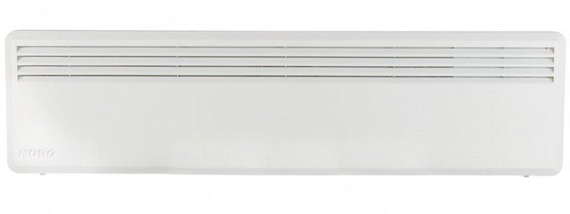 Конвектор электрический Nobo NFC2S 07 (С термостатом)7 м? - 0.7 кВт<br>Простой, незамысловатый и очень компактный конвекторный обогреватель Nobo (Нобо) NFC2S 07 (С термостатом) &amp;mdash; это бытовой прибор, способный обеспечить дополнительный нагрев воздуха в помещении, в ситуациях, когда основного отопления недостаточно или в условиях межсезонных заморозков. Область применения: жилые дома, рабочие пространства, магазины и тому подобное.<br>Главные особенности представленной модели электрического конвектора от производителя Nobo:<br><br>Стильный внешний облик.<br>Удобная конструкция.<br>Незатруднительный монтаж.<br>Удобная и понятная механическая система управления.<br>Электронный термостат и точное поддержание температуры.<br>Соответствие требованиям благодаря технологии &amp;laquo;ecoDesign&amp;raquo;.<br>Ресурс работы &amp;ndash; 30 лет.<br>Обогреватель соответствует классу защиты IP 24.<br>Возможно подключение к Orion 700 или Nobo Energy Control.<br>Конвектор может работать автономно или в единой цепи с другими обогревателями.<br>Кронштейны для крепления к стене поставляются в комплекте с обогревателем.<br>Срок гарантийного обслуживания от производителя &amp;ndash; 10 лет.<br>Возможность установки на ножки с колесиками (опция).&amp;nbsp;&amp;nbsp;&amp;nbsp;&amp;nbsp;<br><br>Электрические обогреватели конвекторного типа Nobo из серии Viking (электронный термостат R80 XSC), высота 20см &amp;mdash; это простое в использовании и очень компактное оборудование, которое позволит осуществить дополнительный обогрев внутри жилых, рабочих и других помещений. Модели из данной серии предназначены для настенного горизонтального размещения, но опционально доступны ножки на колесиках. &amp;nbsp; &amp;nbsp; &amp;nbsp;&amp;nbsp;<br><br>Страна: Норвегия<br>Mощность, Вт: 700<br>Площадь, м?: 7,5<br>Класс защиты: IP24<br>Настенный монтаж: Да<br>Термостат: Электронный<br>Тип установки: Настенная<br>Длина конвектора: 1025<br>Высота конвектора: 200<br>Отключение при перегреве: Есть<br