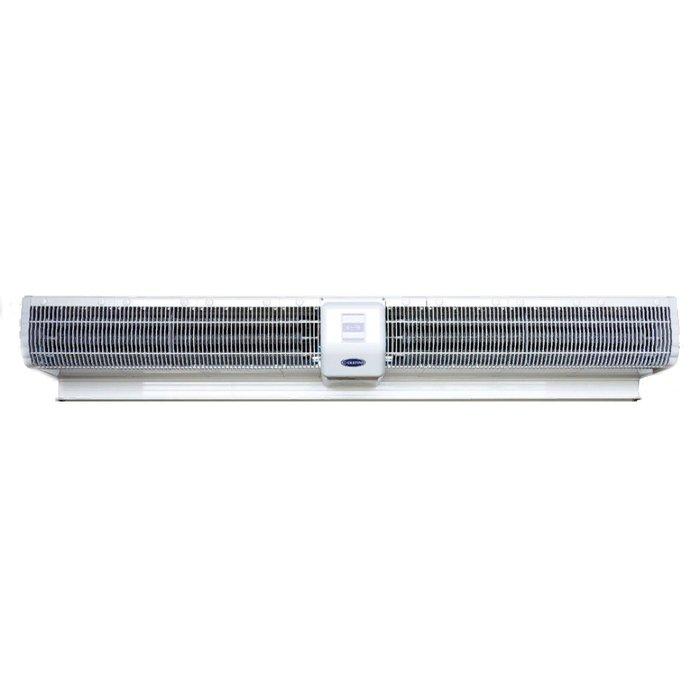 Электрическая тепловая завеса Olefini KEH 28 F (18 kW)18 кВт<br>Модель воздушной завесы Olefini KEH 28 F (18 kW) отличается высокой энергоэффективностью, удобством в эксплуатации, безопасностью и надежностью.<br>Прибор не только способен создать эффективный воздушный барьер у входа в помещение   его можно также рассматривать как источник дополнительного обогрева для помещения площадью порядка 180 м2.<br>Центральное расположение двигателя существенно снижает нагрузку на него, а следовательно   и шумовую нагрузку на обитателей помещения.<br>Особенности прибора:<br><br>Завеса с электрическим подогревом воздуха<br>Подходит для больших проемов высотой до 5 м<br>Низкий уровень энергопотребления<br>Высокий уровень надежности и безопасности<br>Проводной пульт управления в комплекте<br>Ленточный нагревательный элемент<br>Быстрый нагрев и остывание нагревательного элемента<br>Цельный пластиковый корпус<br>Левостороннее расположение двигателя<br>Простота в установке и эксплуатации<br>Наличие пылеулавливающего фильтра<br>Низкие шумовые характеристики<br>Привлекательный внешний вид<br><br>Для тепловых завес Olefini модельного ряда KEH характерно центральное расположение двигателя, что значительно снижает нагрузку на него, повышая износоустойчивость, производительность и способствуя снижению шума. Возможность устанавливать завесы в высоких дверных или оконных проемах   также результат повышенной производительности завес. При этом разработчикам удалось сохранить компактные размеры прибора, что позволяет устанавливать их даже в условиях ограничений пространства.<br>Низкий уровень энергопотребления   также ощутимое преимущество завес, причем работать прибор может и в режиме обогрева, и без нагрева воздуха, что позволяет использовать его круглый год, защищая помещение от внешних воздушных масс, а летом   еще и от пыли и насекомых.<br>Ленточный нагревательный элемент быстро нагревается и также быстро остывает. Это позволяет достичь желаемого теплового результата в считанные секунды по