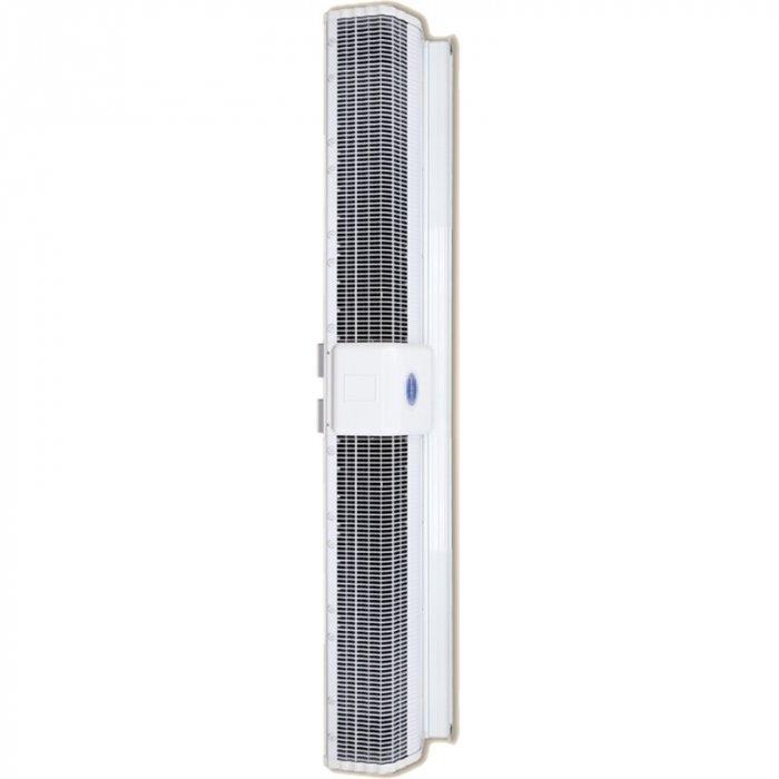 Электрическая тепловая завеса Olefini KEH-35 VERT12 кВт<br>Модель воздушной завесы Olefini (Олефини) KEH-35 VERT разработана для установки в дверных проемах. Оборудование защищает помещение от проникновения уличного воздуха, а также дополнительно обогревает его.  Агрегат надежно защищен от перегрева и перепадов напряжения. Устройство относиться к современным  энергосберегающим моделям. <br>Особенности и преимущества:<br><br>Экономия электроэнергии.<br>Защита от пыли, насекомых.<br>Простой монтаж.<br>Низкий уровень шума.<br>Современный дизайн.<br>Ступени мощности 0/33/66/100.<br>Класс защиты IP20.<br>Различные комплектации систем управления.<br><br>Серия современных воздушных завес в вертикальном исполнении Olefini 120 GENERAL отличается легкостью монтажа и удобством эксплуатации. Все модели из серии оснащены мощным качественным вентилятором, эффективно выполняющим свои функции. Корпуса конструкции выполнены из высокопрочной нержавеющей стали, гарантирующей длительный срок службы оборудования.<br><br>Страна: Греция<br>Производитель: Греция<br>Тип: Электрическая<br>Термостат в комплекте: Нет<br>Расход воздуха, мsup3;/ч: 3110<br>Max высота, м: 3,5<br>Мощность, кВт: 15,0<br>Установка завесы: Вертикальная<br>Регулировка температуры: Есть<br>Вентиляция без нагрева: Есть<br>Ширина завесы, м: 1,4<br>Пульт: Есть<br>Напряжение, В: 380 В<br>Вилка: Нет<br>Габариты ВхШхГ, см: 20,5x144,2x27,7<br>Вес, кг: 34<br>Гарантия: 1 год<br>Ширина мм: 1442<br>Высота мм: 205<br>Глубина мм: 277