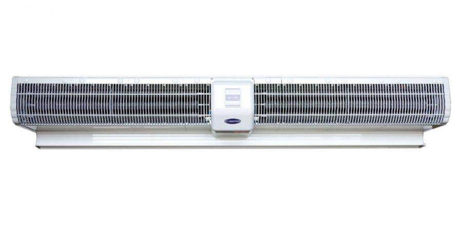 Электрическая тепловая завеса Olefini KEH-3612 кВт<br>Тепловая завеса Olefini KEH-36   это оборудование, которое способно эффективно защитить внутреннюю атмосферу помещения с высокой посещаемостью от проникновения в нее наружных воздушных масс. Создаваемый прибором мощный поток нагретого воздуха у дверного проема  отрезает  прогретый и чистый воздух помещения от уличного   пыльного и морозного. Это не только предотвращает малейшие потери тепла, но и способствует более быстрому прогреву помещения.  <br>Особые преимущества тепловых завес Olefini серии 120  GENERAL :<br><br>Низкий уровень энергопотребления<br>Быстрый нагрев воздуха<br>Выбор мощности нагрева (33% - 66% - 100%)<br>Высокий уровень надежности и безопасности<br>Вентилятор CROSS FLOW диаметром 120 мм<br>Простота в установке и эксплуатации<br>Проводной пульт ДУ<br>Низкие шумовые характеристики<br>Современный дизайн корпуса<br>Класс электрозащиты IP20<br><br>Тепловые завесы Olefini (Олефини) модельного ряда 120  GENERAL  оборудованы высококачественным нагревательным элементом трубчатого типа, который способен очень быстро прогревать воздух, подаваемый на него мощным вентилятором. Несмотря на свою высокую эффективность работы, данное оборудование потребляет совершенно немного электроэнергии и не создает сильного звукового давления, что делает использование этой завесы удобным и приятным.<br><br>Страна: Греция<br>Производитель: Греция<br>Тип: Электрическая<br>Термостат в комплекте: Нет<br>Расход воздуха, мsup3;/ч: 3630<br>Max высота, м: 3,5<br>Мощность, кВт: 12/15<br>Установка завесы: Горизонтальная<br>Регулировка температуры: Есть<br>Вентиляция без нагрева: Есть<br>Ширина завесы, м: 1,642<br>Пульт: Нет<br>Напряжение, В: 380 В<br>Вилка: None<br>Габариты ВхШхГ, см: 20,5х164,2х27,7<br>Вес, кг: 37<br>Гарантия: 1 год<br>Ширина мм: 1642<br>Высота мм: 205<br>Глубина мм: 277