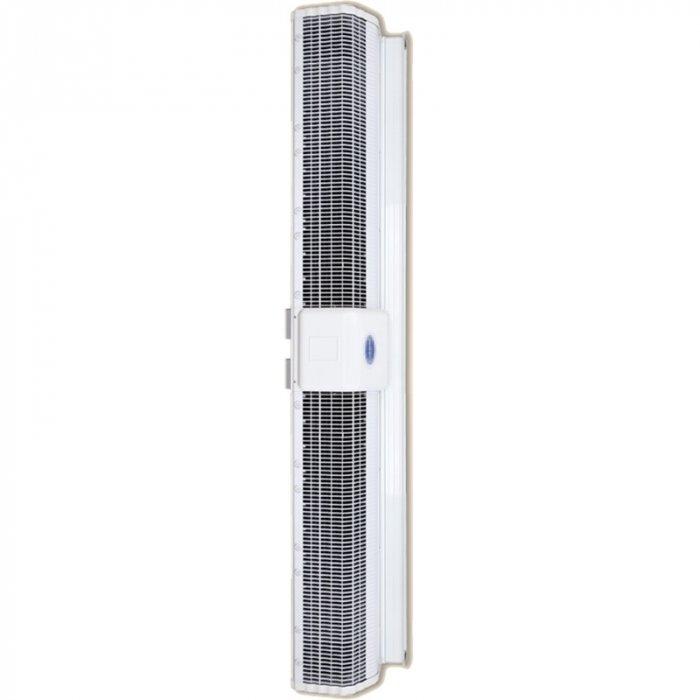 Электрическая тепловая завеса Olefini KEH-38 VERT18 кВт<br>Воздушная завеса Olefini (Олефини) KEH-38 VERT представляет собой модель надежного оборудования, защищающего помещение от проникновения уличного воздуха. В модель интегрированы электрические нагревательные элементы, которые обеспечивают дополнительный обогрев помещения. Это позволяет значительно сократить затраты на отопление.<br>Особенности и преимущества:<br><br>Экономия электроэнергии.<br>Защита от пыли, насекомых.<br>Простой монтаж.<br>Низкий уровень шума.<br>Современный дизайн.<br>Ступени мощности 0/33/66/100.<br>Класс защиты IP20.<br>Различные комплектации систем управления.<br><br>Серия современных воздушных завес в вертикальном исполнении Olefini 120 GENERAL отличается легкостью монтажа и удобством эксплуатации. Все модели из серии оснащены мощным качественным вентилятором, эффективно выполняющим свои функции. Корпуса конструкции выполнены из высокопрочной нержавеющей стали, гарантирующей длительный срок службы оборудования.<br><br>Страна: Греция<br>Производитель: Греция<br>Тип: Электрическая<br>Термостат в комплекте: Нет<br>Расход воздуха, мsup3;/ч: 4675<br>Max высота, м: 3,5<br>Мощность, кВт: 18,0<br>Установка завесы: Вертикальная<br>Регулировка температуры: Есть<br>Вентиляция без нагрева: Есть<br>Ширина завесы, м: 2,0<br>Пульт: Есть<br>Напряжение, В: 380 В<br>Вилка: Нет<br>Габариты ВхШхГ, см: 20,5x204,2x27,7<br>Вес, кг: 41<br>Гарантия: 1 год<br>Ширина мм: 2042<br>Высота мм: 205<br>Глубина мм: 277