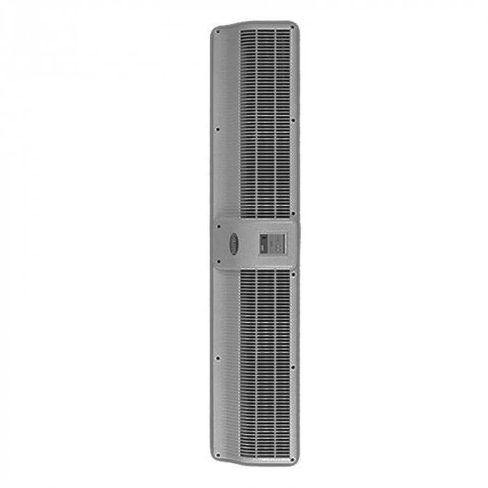 Электрическая тепловая завеса Olefini KWH-15 VERT S/SВодяные<br>Воздушная завеса Olefini (Олефини) KWH-15 VERTS/S от известного производителя разработана для предотвращения проникновения холодного воздуха внутрь помещения. Поскольку оборудование работает от электросети, его оборудовали системой защиты от перегрева и перепадов напряжения. Несмотря на свою производительность, завеса работает при низком уровне шума.<br>Особенности и преимущества:<br><br>Экономия электроэнергии.<br>Защита от пыли, насекомых.<br>Простой монтаж.<br>Низкий уровень шума.<br>Современный дизайн.<br>Наличие воздухоотводчиков в теплообменниках.<br>Диаметр патрубков- 3/4, резьба   внутренняя.<br>Опционально: различные комплектации систем управления.<br>Корпус из нержавеющей стали.<br><br>Серия Olefini 100 COMMERCIAL включает в себя модели воздушных завес в корпусе из нержавеющей стали, предназначенных для установки в вертикальном положении в дверных проемах. Модели отличаются по мощности и наличию нагревательных элементов. Все оборудование надежно защищено от перепадов напряжения и перегрева. Модели легко монтируются и работают при низком уровне шума.<br><br>Страна: Греция<br>Производитель: Греция<br>Тип: Водяная<br>Термостат в комплекте: Нет<br>Расход воздуха, мsup3;/ч: 1200<br>Max высота, м: 2,3<br>Мощность, кВт: 15,3<br>Установка завесы: Вертикальная<br>Регулировка температуры: Есть<br>Вентиляция без нагрева: Есть<br>Ширина завесы, м: 1,4<br>Пульт: Есть<br>Напряжение, В: 220 В<br>Вилка: Нет<br>Габариты ВхШхГ, см: 17,2x140,6x27,4<br>Вес, кг: 25<br>Гарантия: 1 год<br>Ширина мм: 1406<br>Высота мм: 172<br>Глубина мм: 274