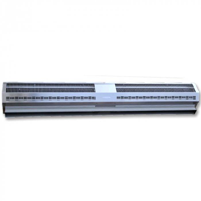 Электрическая тепловая завеса Olefini KWH-24 S/SВодяные<br>Olefini (Олефини) KWH-24 S/S   это модель воздушной завесы с водяным нагревом, предназначенной для обслуживания помещений различного типа. Рекомендуемая ширина дверного проема для монтажа устройства составляет 1,2 метра. Для управления моделью могут быть дополнительно подключены модули управления, с помощью которых регулируется мощность агрегата. <br>Особенности и преимущества:<br><br>Экономия электроэнергии.<br>Защита от пыли, насекомых.<br>Простой монтаж.<br>Низкий уровень шума.<br>Современный дизайн.<br>Наличие воздухоотводчиков в теплообменниках.<br>Диаметр патрубков - 3/4, резьба   внутренняя.<br>Различные комплектации систем управления.<br><br>Серия воздушных завес в корпусе из нержавеющей стали Olefini 133 INDUSTRIAL S/S отличается качественной конструкцией и высокой производительностью. Модели предназначены для защиты помещений от холодного уличного воздуха. Все модели оснащены мощными вентиляторами, эффективно справляющимися со своими функциями. Оборудование проходит тестирование на заводе производителя.<br><br>Страна: Греция<br>Производитель: Греция<br>Тип: Водяная<br>Термостат в комплекте: Нет<br>Расход воздуха, мsup3;/ч: 2390<br>Max высота, м: 5,0<br>Мощность, кВт: 23,0<br>Установка завесы: Горизонтальная<br>Регулировка температуры: Есть<br>Вентиляция без нагрева: Есть<br>Ширина завесы, м: 1,2<br>Пульт: Есть<br>Напряжение, В: 220 В<br>Вилка: Нет<br>Габариты ВхШхГ, см: 22,7x125,9x30,6<br>Вес, кг: 32<br>Гарантия: 1 год<br>Ширина мм: 1259<br>Высота мм: 227<br>Глубина мм: 306
