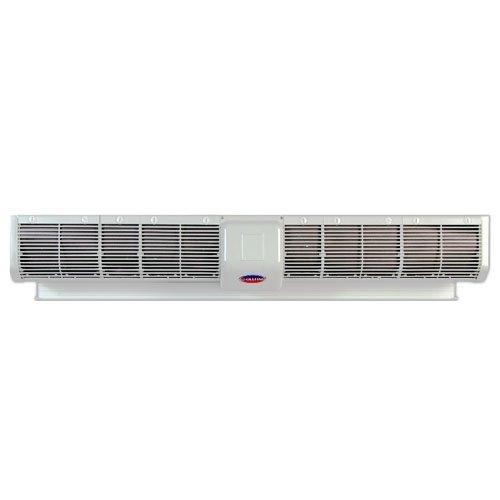 Электрическая тепловая завеса Olefini KWH-28 S/S SD (IP24)Водяные<br>Olefini (Олефини) KWH-28 S/S SD (IP24) обеспечивают обдув ворот даже в суровой среде автомойки, благодаря влаге, воде и прочим факторам способствующим в совокупности коррозии и повреждению оборудования. Поэтому завесы имеют высокий класс защиты. В результате обдува образуется плотная воздушная стена на подобие двери, закрывающая проем как настоящая, но при этом не мешающая движению людей и машин.<br>Особенности водяных завес с вентилятором 130 мм<br><br>Скорость потока воздуха 11/8,5 м/с<br>Мощность двигателя 660 Вт<br>Макс. Уровень шума 64/60 дБ<br>Объем воды в теплообменнике 1 л<br>Класс защиты IP24<br>Водяной теплообменник с воздухоотводчиком<br>Диаметр патрубков 3/4 , резьба - внутренняя<br>Электронная система управления IP24<br>Пульт ДУ IP20<br>Проводной пульт IP55<br>Влагозащищенный двигатель SIEMENS IP65<br>Герметичная коробка электрических соединений IP55<br>Установка VERT   вертикальная<br>Материал корпуса S/S   нержавеющая сталь (430)<br>Размещение двигателя L/R/K   левое/правое/среднее<br>Клеммы для концевого выключателя (SD)<br><br>Серия завес  IP24  с собственной системой управления IP24. Влагозащищенные завесы Olefini SD находят свое применение на автомойках и химических производствах с большой влажностью и агрессивной средой из активных химических веществ. Вся система складывается из технических особенностей и частей управляющих элементов. Постоянная скорость вращения вентилятора. Проводной пульт и пульт ДУ имеют защитное исполнение. Модели электрических завес с ТЭНами так же имеют защиту, выполнены из нержавеющей стали. Все провода заключены в оболочку, контакты размещены в герметичных коробках, места входа проводов в коробки так же защищены креплениями.<br><br>Страна: Греция<br>Производитель: Греция<br>Тип: Водяная<br>Термостат в комплекте: Нет<br>Расход воздуха, мsup3;/ч: 4395/3395<br>Max высота, м: 5<br>Мощность, кВт: 41,0/36,0<br>Установка завесы: Горизонтальная<br>Регулировка т