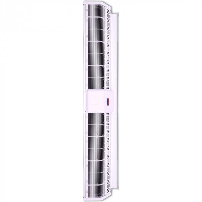 Электрическая тепловая завеса Olefini LEH-22 VERT18 кВт<br>Olefini (Олефини) LEH-22 VERT представляет собой модель воздушной завесы с электрическим нагревом. Оборудование защищает помещение от проникновения холодного воздуха и используется в качестве дополнительного источника обогрева. Такое техническое решение помогает значительно сократить затраты на отопление помещения в холодное время года.<br>Особенности и преимущества:<br><br>Экономия электроэнергии.<br>Защита от пыли, насекомых.<br>Простой монтаж.<br>Низкий уровень шума.<br>Современный дизайн.<br>Ступени мощности 0/33/66/100.<br>Класс защиты IP20.<br>Различные комплектации систем управления.<br><br>Серия воздушных завес в вертикальном исполнении Olefini 133 INDUSTRIAL VERT разработана для обслуживания помещений с большой площадью. Модели оснащены мощными вентиляторами, эффективно выполняющими свои функции. Каждая модель из серии проходит обязательный контроль качества на заводе производителя. Оборудование выполнено из высокопрочных материалов, устойчивых к воздействию окружающей среды.<br><br>Страна: Греция<br>Производитель: Греция<br>Тип: Электрическая<br>Термостат в комплекте: Нет<br>Расход воздуха, мsup3;/ч: 2830<br>Max высота, м: 5,0<br>Мощность, кВт: 18,0<br>Установка завесы: Вертикальная<br>Регулировка температуры: Есть<br>Вентиляция без нагрева: Есть<br>Ширина завесы, м: 1,0<br>Пульт: Есть<br>Напряжение, В: 380 В<br>Вилка: Нет<br>Габариты ВхШхГ, см: 22,7x127x30,6<br>Вес, кг: 36<br>Гарантия: 1 год<br>Ширина мм: 1270<br>Высота мм: 227<br>Глубина мм: 306