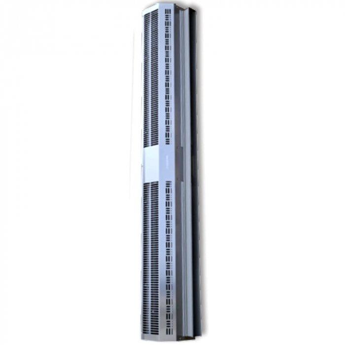 Электрическая тепловая завеса Olefini RWH-33 VERT S/SВодяные<br>Olefini (Олефини) RWH-33 VERT S/S   это модель современной воздушной завесы, предназначенной для защиты помещения от проникновения внутрь холодного воздуха. Главным преимуществом агрегата является наличие водяного нагрева для дополнительного обогрева площади помещения. Завеса легко монтируется и работает при рекордно низком уровне шума.<br>Особенности и преимущества:<br><br>Экономия электроэнергии.<br>Защита от пыли, насекомых.<br>Простой монтаж.<br>Низкий уровень шума.<br>Современный дизайн.<br>Наличие воздухоотводчиков в теплообменниках.<br>Диаметр патрубков - 3/4, резьба   внутренняя.<br>Различные комплектации систем управления.<br><br>Серия воздушных завес Olefini 120 GENERAL предназначена для защиты помещений от проникновения холодного уличного воздуха. Модели устанавливаются в вертикальном положении в дверных проемах. Корпуса конструкций изготовлены из нержавеющей стали. Все модели надежно защищены от перегрева и перепадов напряжения. Модели отличаются удобством монтажа и современной системой управления.<br><br>Страна: Греция<br>Производитель: Греция<br>Тип: Водяная<br>Термостат в комплекте: Нет<br>Расход воздуха, мsup3;/ч: 1740<br>Max высота, м: 3,5<br>Мощность, кВт: 17,2<br>Установка завесы: Вертикальная<br>Регулировка температуры: Есть<br>Вентиляция без нагрева: Есть<br>Ширина завесы, м: 1,0<br>Пульт: Есть<br>Напряжение, В: 220 В<br>Вилка: Нет<br>Габариты ВхШхГ, см: 20,4x114,9x27,7<br>Вес, кг: 26<br>Гарантия: 1 год<br>Ширина мм: 1149<br>Высота мм: 204<br>Глубина мм: 277