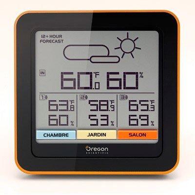 Цифровая метеостанция Oregon RAR502С радиодатчиком<br>Оснащенная множеством дополнительных функций комнатная метеостанция&amp;nbsp;в стильном цветном корпусе Oregon&amp;nbsp;(Орегон)&amp;nbsp;RAR502&amp;nbsp;значительно упростит вашу жизнь и позволит просто и быстро получать самую актуальную информацию о температуре. Производитель предусмотрел привлекательную возможность организовать подключение сразу нескольких датчиков. Такой прибор &amp;mdash; современное решение для дома!<br><br>Страна: США<br>Диапазон темп. t, С: 20+60<br>Диапазон p, мм. рт. ст.: None<br>Диапазон rH, : 25 95<br>Разрешение t, С: 0,1<br>Цвет корпуса: Черный/оранжевый<br>Питание, В: Батарейки<br>Колво батареек: 3<br>Тип батарейки: AAA<br>Адаптер к 220В: Нет<br>В комнате t, С: Да<br>За окном t, С: Да<br>Влажность в помещении: Да<br>Влажность за окном: Да<br>Давление: Нет<br>Прогноз погоды: Да<br>Лунный календарь: Нет<br>Размер, мм: 130x133x30<br>Вес, кг: 1<br>Гарантия: 1 год<br>Ширина мм: 133<br>Высота мм: 130<br>Глубина мм: 30
