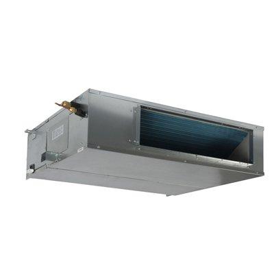 Канальный кондиционер Pioneer KFD36UW/KON36UW11 кВт - 36 BTU<br>Канальный низконапорный кондиционер KFD36UW/KON36UW известной японской марки Pioneer   это сплит-система, отличающаяся целым рядом полезных и удобных для потребителя функций. Это недельный таймер, многоскоростной вентилятор, пять режимов работы   нагрева, осушения, вентиляции и режим  авто . Проводной пульт управления может управлять прибором на расстоянии десяти метров от внутреннего блока и принимает сигнал от беспроводного пульта.<br>Особенности рассматриваемой модели канального кондиционера от торговой марки Pioneer:<br><br>Удобный, незаметный постороннему взгляду канальный тип установки.<br>Ультратонкий корпус.<br>Сторона забора воздуха выбирается пользователем при монтаже.<br>Высокая энергоэффективность.<br>3 скорости вентилятора.<br>Быстрый выход на режим комфортной температуры.<br>Высокоэффективный фильтр очистки воздуха.<br>Кондиционер оборудован системой самодиагностики неисправностей, контролируемой микропроцессором последнего поколения.<br>Автоматический перезапуск.<br>Режим вентиляции воздуха.<br>Режим комфортного сна.<br>Режим осушения воздуха в помещении.<br>В данной модели реализована возможность притока свежего воздуха.<br>Кондиционер оборудован таймером на включение/выключение с возможностью программирования на неделю.<br>Проводной пульт управления в комплекте.<br>Дренажный насос необходимо приобрести отдельно.<br><br>Серия низконапорных канальных кондиционеров от известной только качественной техникой японской компании Pioneer отличается универсальностью, удобством в управлении и высокой эффективностью в работе. Все модели семейства оснащены современной электронной системой управления, для установки режимов функционирования приборы комплектуются эргономичным проводным пультом, который, как правило, закрепляется на стену. Есть возможность программировать включение и выключение оборудования на срок до недели. Кроме того, все модели серии оснащены режимом приточной вентиляции, который по