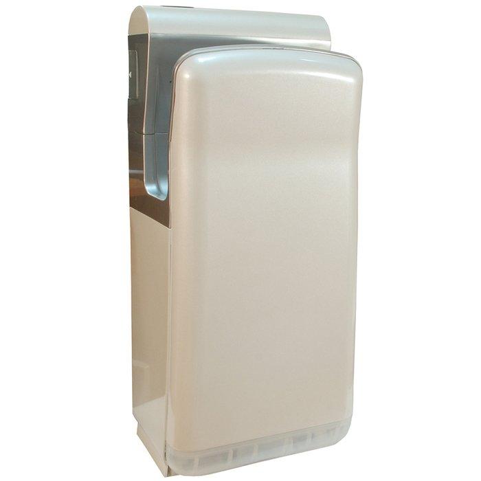 Напольная сушилка для рук Puff 8870Скоростные сушилки для рук<br>Модель Puff-8870 представляет собой эргономичный электросушитель погружного типа, отличающийся высокой мощностью работы и несравненным качеством корпуса, исполненного из передовых материалов. Благодаря новейшему оснащению  рассматриваемое устройство комфортно используется, не наносит никакого вреда коже рук и безопасно эксплуатируется в самых разных условиях.<br>Особенности и преимущества сушки для рук Puff:<br><br>Прочный корпус с увеличенной толщиной стенок.<br>Стильный внешний облик.<br>Эргономичная конструкция.<br>Удобство эксплуатации.<br>Простое управление.<br>Автоматическая работа.<br><br>Электросушители для рук Puff   то широкая линейка разнообразных изделий для установки на общественных и жилых объектах. Высокое качество материала, передовая комплектация и эффективная шумоизоляция свойственны всем моделям от данного производителя. Электросушителя также совершенно не требуют обслуживания и отличаются невероятной простотой использования. <br><br>Страна: Россия<br>Мощность, кВт: 2,0<br>Материал корпуса: Пластик<br>Поток воздуха м/с: 90<br>Степень защиты: IP22<br>Цвет корпуса: Белый<br>Минимальный уровень шума, дБа: 87<br>Объем воздушного потока, м3/час: None<br>Средняя скорость высушивания, сек: 57<br>Температура воздушного потока, С: 43<br>Размеры, мм: 290x220x685<br>Вес, кг: 9<br>Гарантия: 2 года