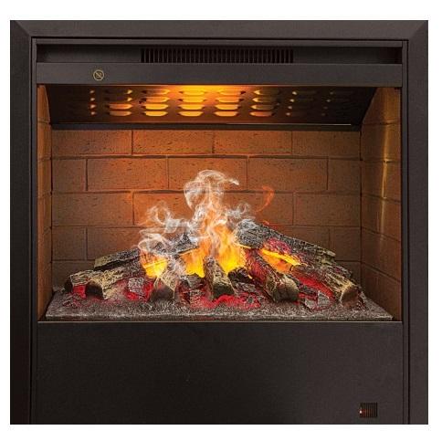 Очаг с эффектом живого огня Real-Flame 3D HELIOSОчаги классические<br>Электрический очаг Real-Flame (Реал Флейм) 3D HELIOS с эффектом живого огня абсолютно реалистично имитирует горение дров, его иллюзорное 3D-пламя вы не сможете отличить от настоящего. Прибор характеризуется наличием системы безопасности, маленьким компактным размером, удобным дистанционным управлением и первоклассным исполнением. Кроме того, данный очаг с увлажнителем воздуха поможет создать максимально комфортные микроклиматические условия.<br><br>Страна: Канада<br>Мощность, кВт: 1,5<br>Пламя Optiflame: None<br>Эффект топлива: Дрова<br>Фильтр очистки воздуха: Нет<br>Обогреватель: Есть<br>Цвет рамки: Черный<br>Потрескивание: Нет<br>Пульт: Есть<br>Дисплей: Нет<br>Тип камина: Электрический<br>ГабаритыВШГ,мм: 625x634,8x274,1<br>Гарантия: 1 год<br>Вес, кг: 25