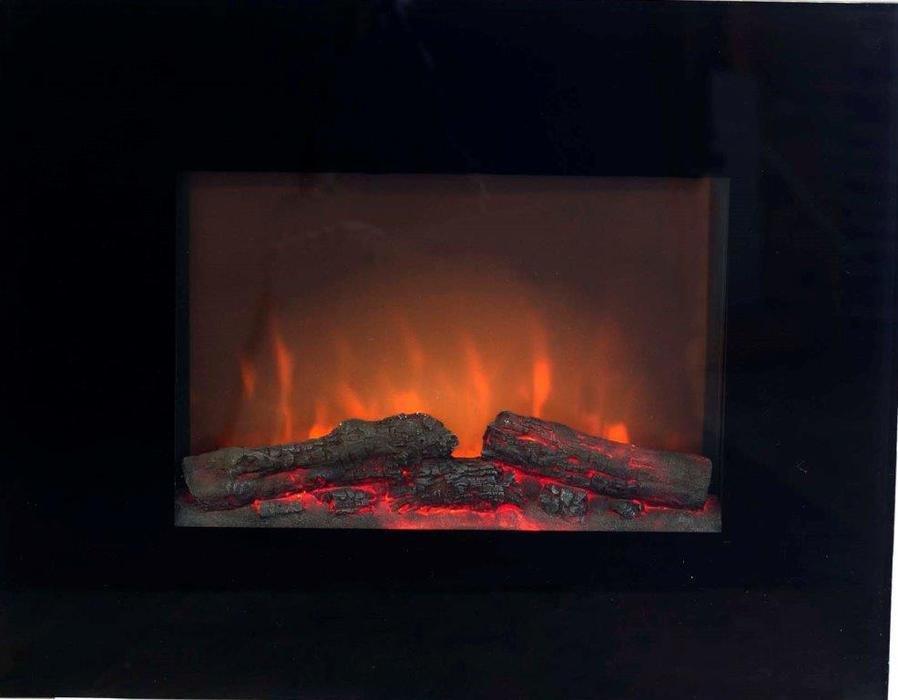 Настенный очаг электрокамина Real-Flame ANDROMEDAОчаги широкие<br>Real-Flame ANDROMEDA   настенный встраиваемый электрический камин. Камин ANDROMEDA имеет глубину встраивания всего 150 мм   такой камин, установленный в стену, не займет полезную площадь и отлично подойдет даже для небольшого помещения с интерьером, исполненным в современном стиле. Обладая простым внешнем исполнением, очаг серии ANDROMEDA имеет прекрасные технические характеристики   мощный тепловентилятор, регулировку пламени и подсветки, а также пульт управления.<br><br>Страна: Канада<br>Мощность, кВт: 1,8<br>Пламя Optiflame: None<br>Эффект топлива: Дрова<br>Фильтр очистки воздуха: Есть<br>Обогреватель: Есть<br>Цвет рамки: Черный<br>Потрескивание: Нет<br>Пульт: Есть<br>Дисплей: Нет<br>Тип камина: Электрический<br>ГабаритыВШГ,мм: 520x660x120<br>Гарантия: 1 год<br>Вес, кг: 14