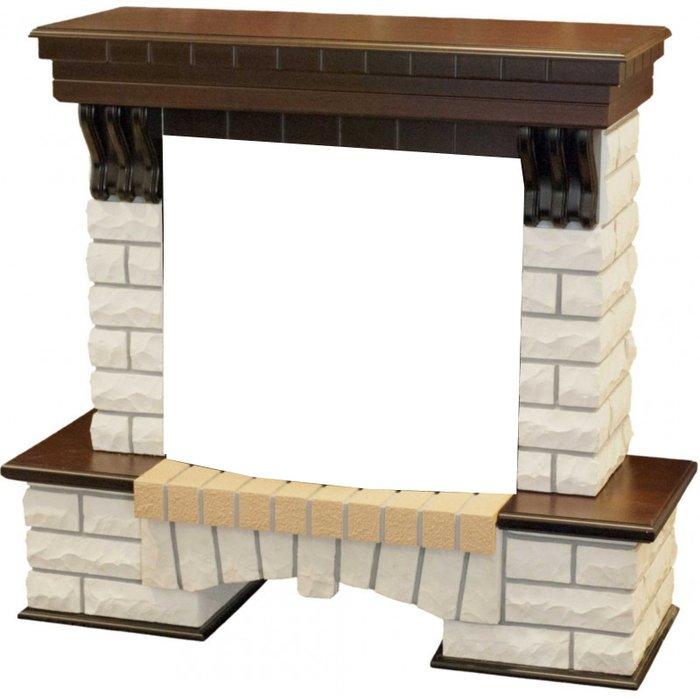Камин Real-Flame Country 25 AOПорталы из камня<br>Real Flame (Реал Флейм) COUNTRY FS25 &amp;ndash; портал для очага, выполненный из натурального камня в сочетании элементами &amp;laquo;под дерево&amp;raquo;, с облицовкой из натурального шпона в цветах либо белого, либо античного дуба. Стиль &amp;laquo;кантри&amp;raquo;, сочетание камня и дерева в дизайне сделают этот портал украшением вашего загородного дома. Дизайнеры предусмотрели даже нишу под очагом для &amp;laquo;хранения дров&amp;raquo;. &amp;nbsp;&amp;nbsp;&amp;nbsp;<br>Особенности рассматриваемой модели каминного портала от торговой марки Real Flame:<br><br>Пристенный фронтальный вариант установки.<br>Стильный эргономичный дизайн.<br>Компактные установочные размеры.<br>Высокое качество материалов и сборки.<br>Простота в уходе.<br>Возможность, при необходимости, переустановить в другое помещение.<br>Портал устойчив к разрушающему воздействию солнечных лучей и небольших механических повреждений.<br>Несложный монтаж, не требующий профессиональных навыков.<br><br>Каминные порталы &amp;ndash; это шанс каждого пользователя почувствовать себя настоящим творцом стиля. Огромный выбор моделей позволяет выбрать то обрамление, которое идеально впишется в конкретный интерьер помещения. Порталы от компании &amp;nbsp;Real Flame &amp;ndash; это высокое качество материалов изготовления, благодаря чему изделия характеризуются длительным сроком службы, при этом не теряют первоначального облика. Уход за ними очень прост &amp;ndash; достаточно лишь стирать накопившуюся со временем пыль.<br><br>Страна: Канада<br>Материал портала: МДФ/нат. шпон<br>Цвет: Мульти<br>Тип портала: Фронтальный<br>ГабаритыВШГ,мм: 1170x1200x430<br>Вес, кг: 65<br>Гарантия: 1 год