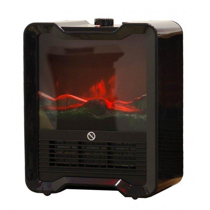 Камин Real-Flame DEWYКаминные печи<br>Печь RealFlame DEWY &amp;ndash; это маленький напольный электрический прибор, который обеспечит дополнительный обогрев помещений. Особенность представленной модели в том, что ее очаг с помощью диодной подсветки имитирует живой огонь, и делает это настолько реалистично. Что вы не заметите разницы. Доступные цвета: красный, шампань и классический вариант черного цвета. Такой напольный прибор станет прекрасным вариантом для дачи или загородного дома.&amp;nbsp;<br><br>Страна: Канада<br>Мощность, кВт: 1,5<br>Цвет: Черный<br>Обогреватель: Есть<br>Пламя Optiflame: None<br>Эффект топлива: Дрова<br>Тип камина: Электрический<br>ГабаритыВШГ,мм: 335x270x170<br>Гарантия: 15 месяцев<br>Вес, кг: 14