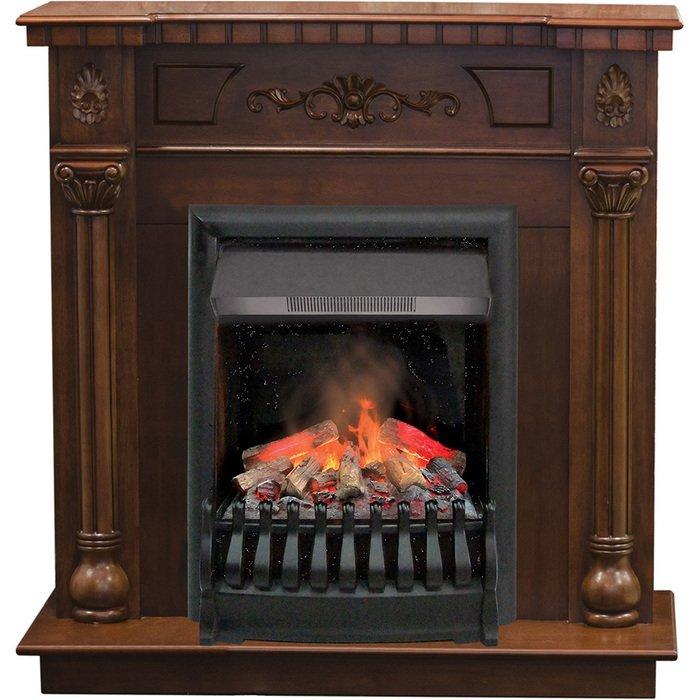 Камин Real-Flame Dacota AO с очагом 3D OreganКаминокомплекты<br>Электрокамин Real Flame (Реал Флейм) Dacota AO с очагом 3D Oregan идеально впишется в дизайн квартиры или индивидуального дома и может быть комфортно размещен даже в небольших помещениях, так как имеет сравнительно скромные размеры. Портал камина отличается классическим элегантным исполнением, которое способно стать украшением любого интерьера.<br>Особенности и преимущества готовых решений электрических каминов Real-Flame:<br><br>Привлекательный внешний вид.<br>Отсутствует потребность в дымоходе.<br>Нет дополнительных материальных затрат в процессе монтажа.<br>Прочное стекло, которое не нагревается.<br>Высокий уровень пожаробезопасности.<br>Высококачественные исходные материалы.<br>Портал не облазит и не портится от воздействия солнечных лучей.<br>Реалистичный огонь.<br>Рядом стоящие предметы интерьера не нагреваются.<br>Безопасность эксплуатации.<br>Комфорт использования.<br><br>Особенности и преимущества очага Real Flame 3D Oregan:<br><br>Новинка 2016!<br>На 100% достоверный и реалистичный эффект пламени.<br>Очаг снабжен пультом дистанционного управления, обладает защитой от перегрева.<br>Предусмотрена регулировка высоты пламени.<br>2 режима обогрева (0,75 или 1,5 Квт)<br>Очаг с функцией увлажнения воздуха.<br><br>Электрический камин Real Flame   это отличная альтернатива дровяным печам. Такие приборы смогут создать иллюзию настоящего огня, который вы вряд ли отличите от настоящего. Однако электрические камины имеют множество преимуществ перед дровяными  собратьями . Во-первых, это отсутствие продуктов сгорания, что означает   такие камины не нуждаются в дымоходных трубах. Во-вторых, вам не нужно заботиться о наличии топлива (дров или угля), а также производить обязательную регулярную чистку зольников и топочных камер. В-третьих, электрический камин очень легкий, не требует встраивания в нишу, может легко переместиться на другое место, что бывает актуально, когда производится ремонт помещения. <br> <b