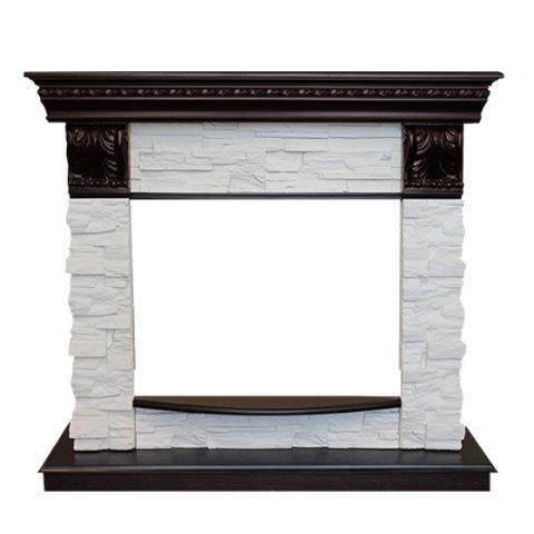 Портал из камня для камина Real-Flame Elford  LUX 25 AOПорталы из камня<br>Real Flame (Реал Флейм) Elford LUX 25 AO   это современный каминный портал, который может создать благоприятные жилищные условия, подарить вам и вашей семье атмосферу уюта и комфорта. Обусловлено это там, что данное изделие отличается тонкой дизайнерской работой, имеет надежное исполнение и выполнено из качественных и проверенных временем материалов. Подойдет как для квартиры, так и для коттеджа.  <br>Особенности рассматриваемой портала для электрокамина от компании Real Flame:<br><br>Материал изготовления портала: шпонированный МДФ, искусственный камень<br>Фронтальный вариант исполнения;<br>Роскошный дизайн;<br>Изящное дополнение любого интерьера помещения;<br>Облицовка из натурального шпона;<br>Удобные габаритные размеры;<br>Тип: пристенный, в собранном виде;<br>Безопасность эксплуатации;<br>Долгий срок безукоризненной службы;<br>Совместим со стандартными моделями очагов 25 дюймов от Real Flame.<br><br>Порталы для электрокаминов Real Flame отличаются интересными визуальными качествами и выполнены из надежных и износоустойчивых материалов, проверенных временем. Изделия т данного производителя предназначены для совместной работы с электрическими очагами, и отличаются своим дизайнерским решением и в зависимости от исполнения способны удовлетворить нужды любой категории потребителей.<br><br>Страна: Канада<br>Материал портала: МДФ/нат. шпон<br>Цвет: Античный дуб<br>Тип портала: Фронтальный<br>ГабаритыВШГ,мм: 1010x1080x400<br>Вес, кг: 90<br>Гарантия: 1 год