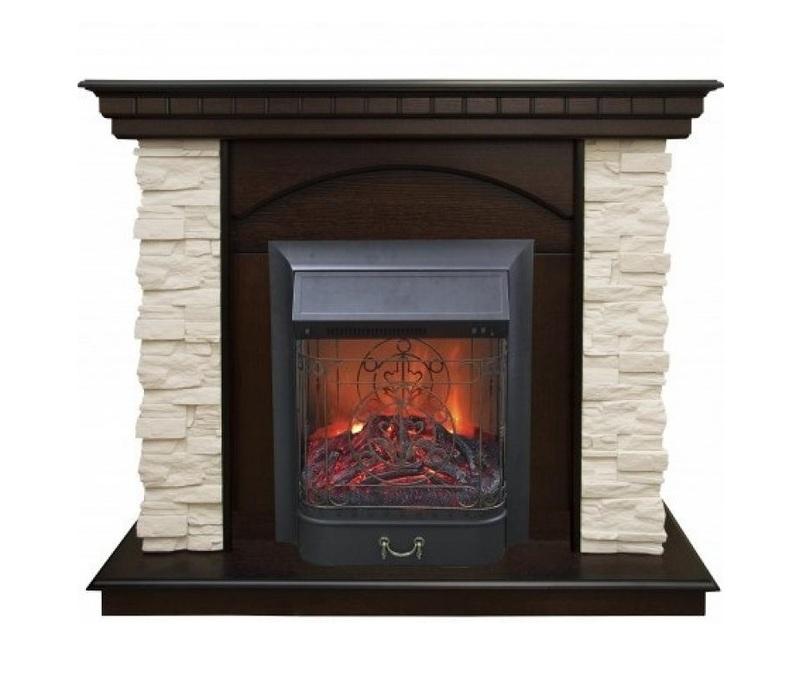 Камин Real-Flame Elford ST AO + Fobos/MajesticКаминокомплекты<br>Сочетание стильного, торжественного портала из плиты МДФ, шпонированной натуральным деревом белого или темного цвета и, имитирующего известняк, белого камня, и электроочага двух моделей &amp;ndash; &amp;laquo;Fobos&amp;raquo; или &amp;laquo;Majestic&amp;raquo;, лаконичной формы, украшенных изящной решеткой &amp;ndash; это комплект Real Flame(Реал Флейм) Elford ST AO + Fobos/Majestic. Имеется два режима работы: декорации огня и обогрева - одновременно или по отдельности.<br>Особенности рассматриваемой модели каминного портала от торговой марки Real Flame:<br><br>Стильный дизайн в вашем помещении.<br>Компактные размеры обрамления.<br>Материалы только высокого качества.<br>Незатруднительный, не требующий навыков&amp;nbsp; монтаж.<br>Материалы портала: МДФ, натуральный шпон.<br>Сохранность первоначального облика на годы эксплуатации.<br>Высокотехнологичный очаг.<br>Несколько режимов обогрева помещения.<br>Независимый декоративный режим работы.<br>Визуальный эффект подсвечивающихся дров.<br>Невероятно реалистичный эффект &amp;laquo;живого пламени&amp;raquo;.<br>Независимый режим тлеющих углей.<br>Комплектуется беспроводным пультом дистанционного управления.<br><br>Каминокомплекты, осуществляющие работу от сети электричества &amp;ndash; это современное решение для тех, кто хочет создать у себя дома интерьер, который не оставит равнодушных, ни среди обитателей дома, ни среди гостей. Каминокомплекты от Real Flame не нуждаются в разрешении на установку, многие поставляются в готовом, собранном виде, благодаря чему монтаж можно осуществлять без привлечения специалиста. Широкий выбор моделей позволяет подобрать устройство под готовый интерьер любого стиля. Все без исключения модели отличаются высоким качеством материалов, стабильной и долговечной работой.<br><br>Страна: Канада<br>Материалы портала: МДФ/нат. шпон<br>Мощность, кВт: 2,0<br>Обогреватель: Есть<br>Фильтр очистки воздуха: Нет<br>Пламя Optiflame: None<br